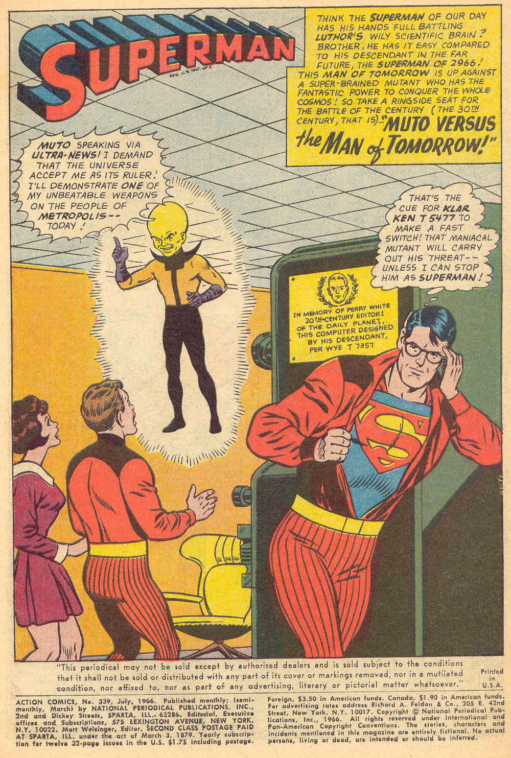 Read online Action Comics (1938) comic -  Issue #339 - 2