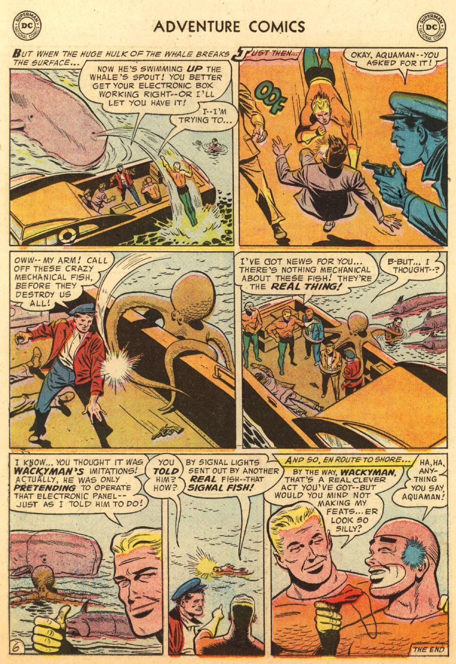 Read online Adventure Comics (1938) comic -  Issue #233 - 22