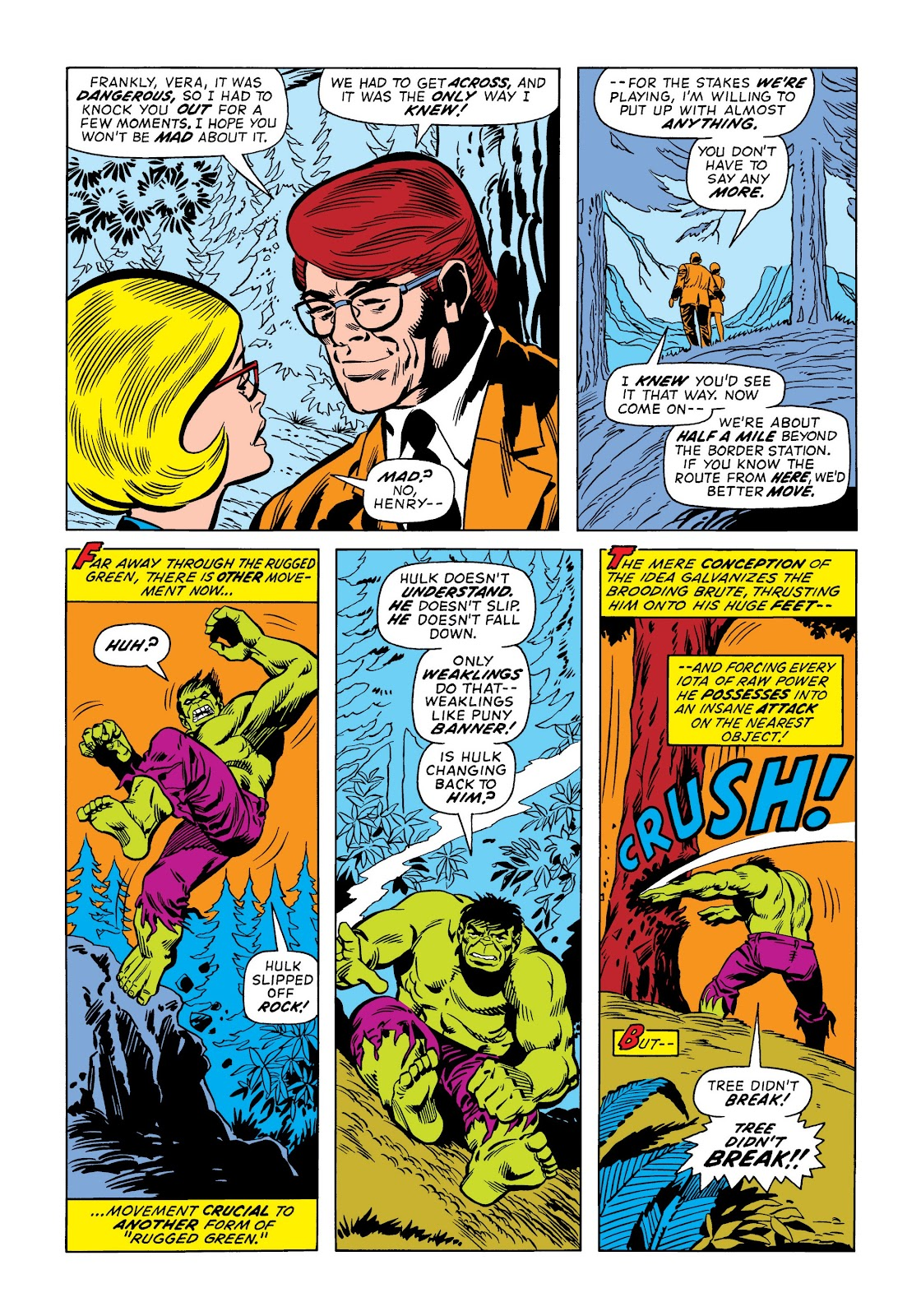 Read online Marvel Masterworks: The Incredible Hulk comic -  Issue # TPB 9 (Part 2) - 1