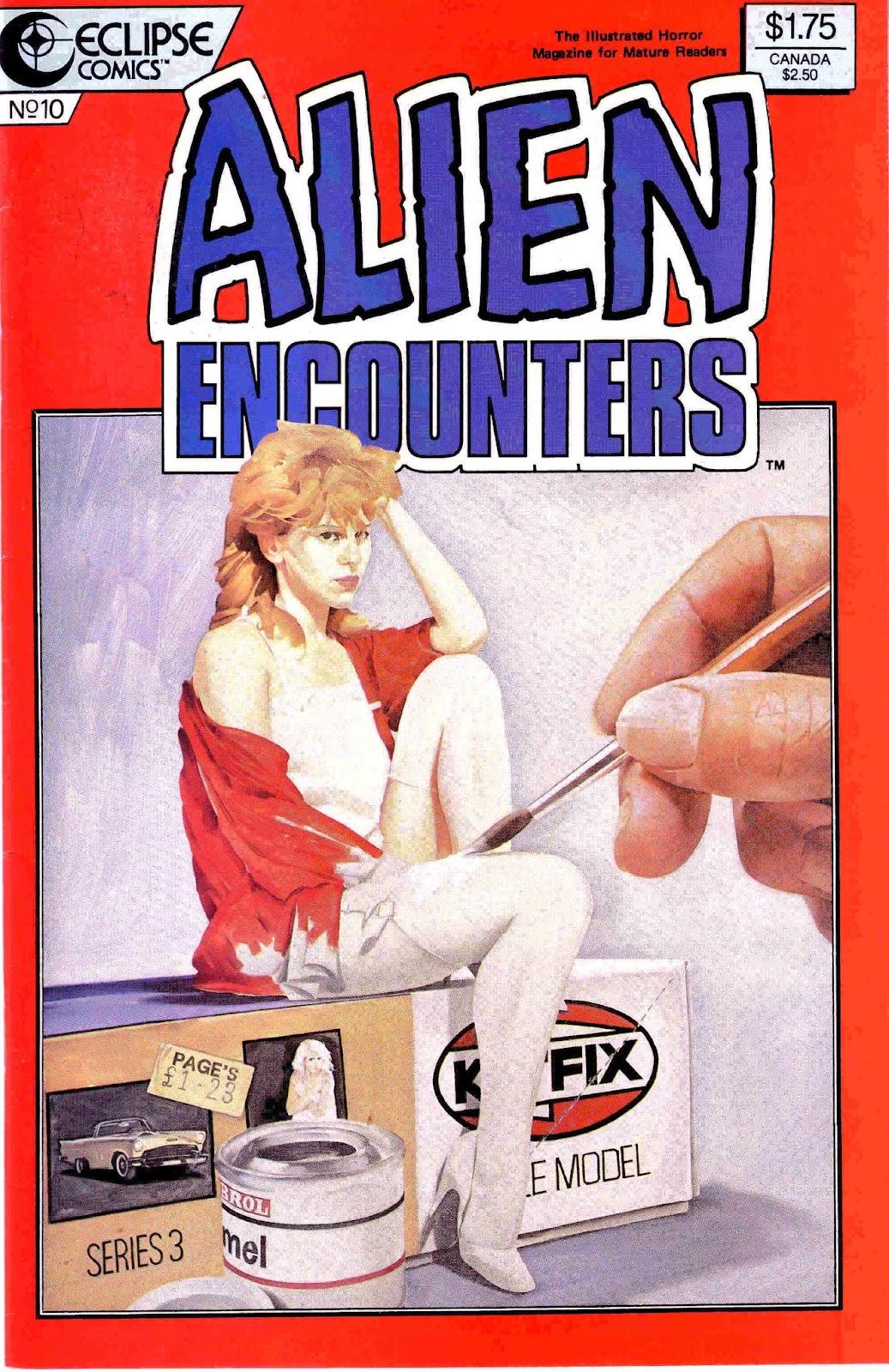 Alien Encounters 10 Page 1