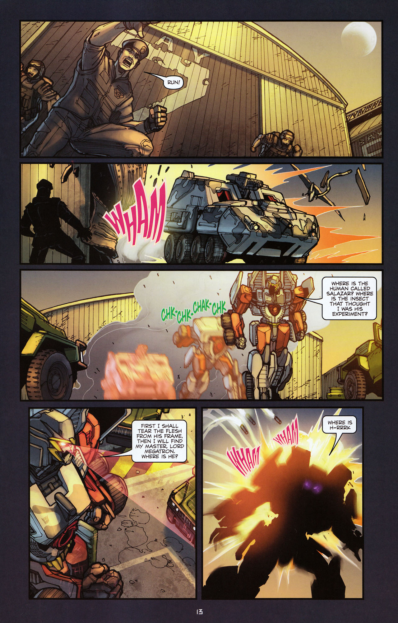 Read online Transformers: Alliance comic -  Issue #2 - 16