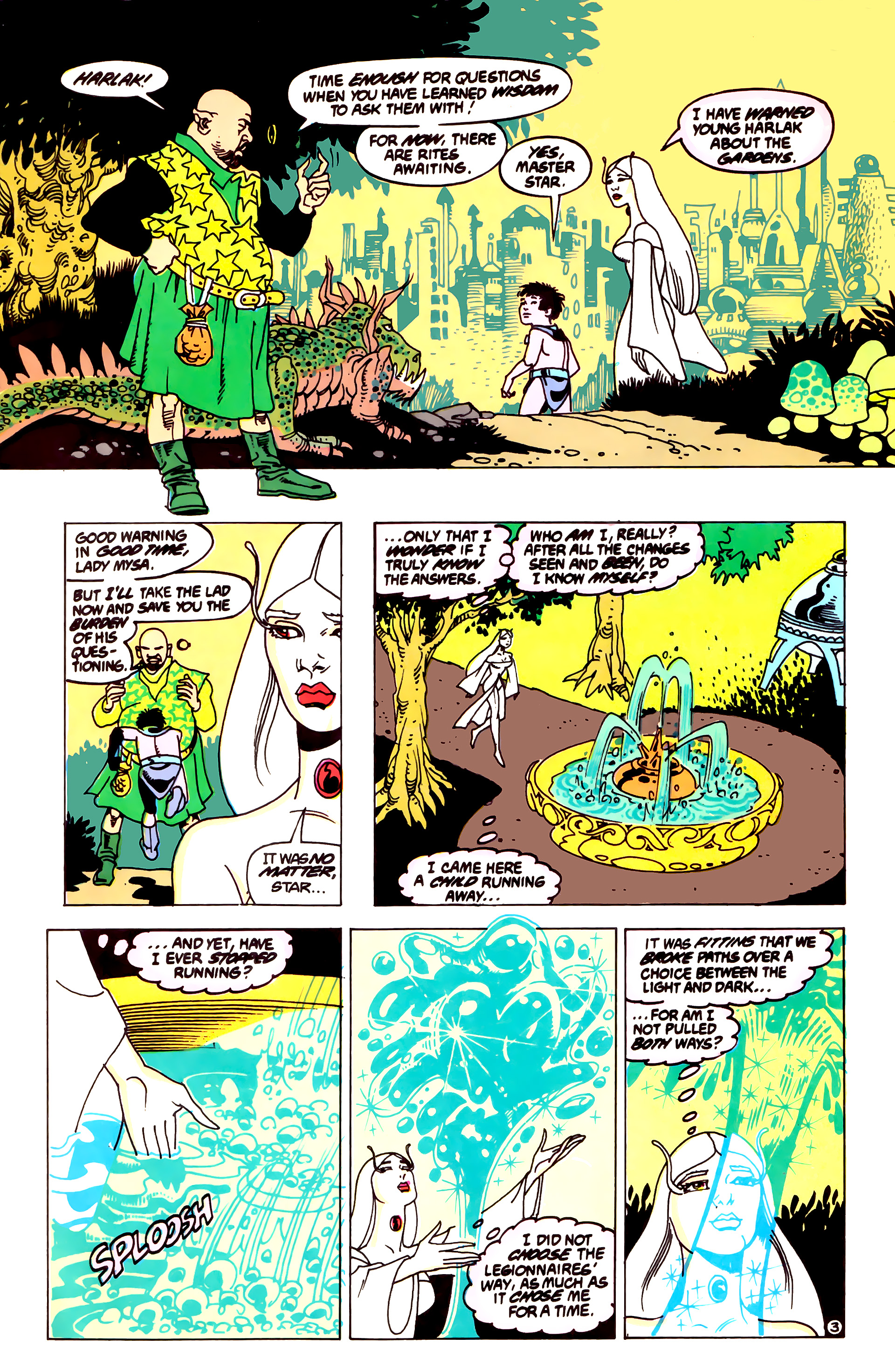 Legion of Super-Heroes (1984) 55 Page 3