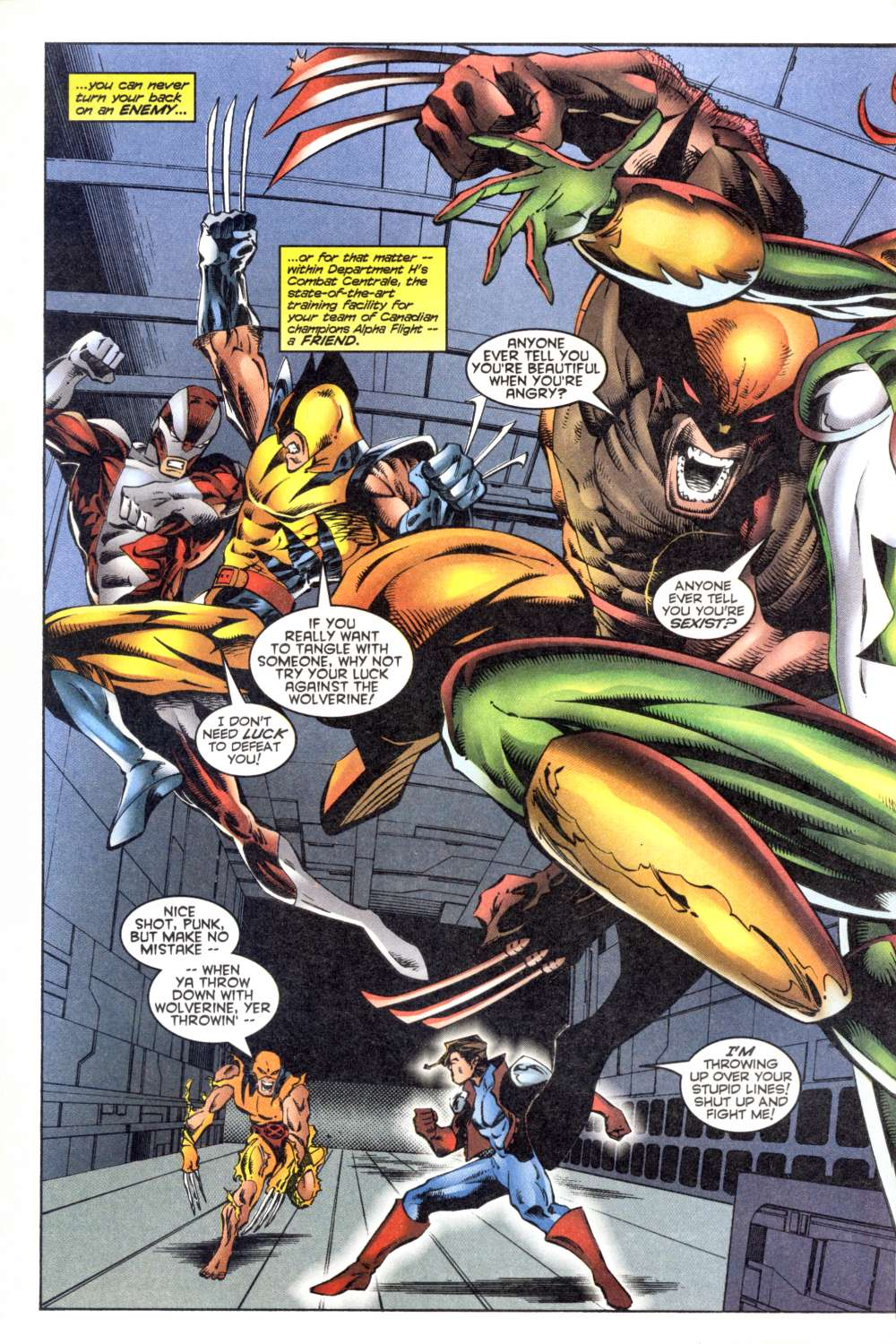 Read online Alpha Flight (1997) comic -  Issue #8 - 25