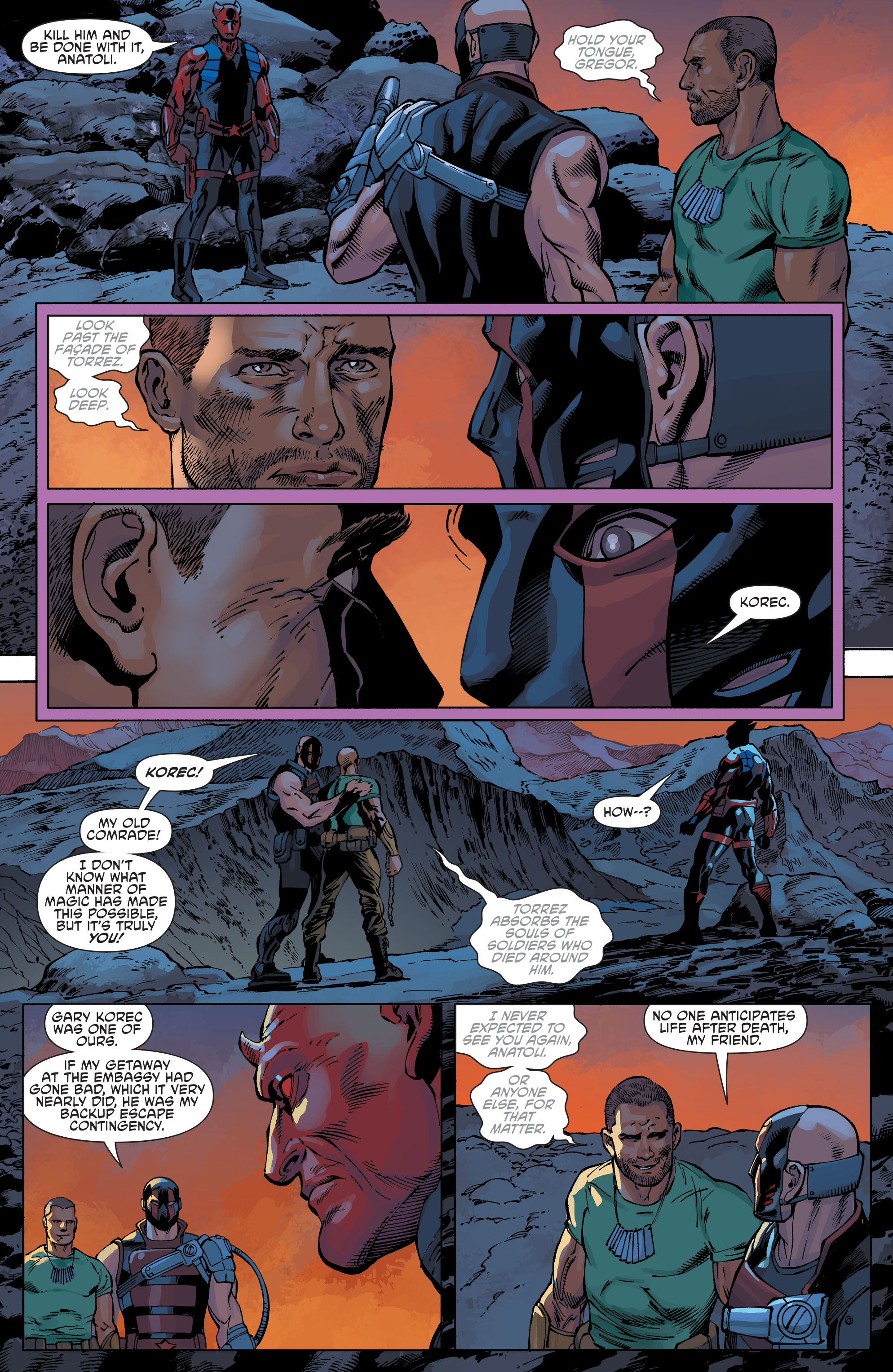 Read online Aquaman and the Others comic -  Issue #9 - 10
