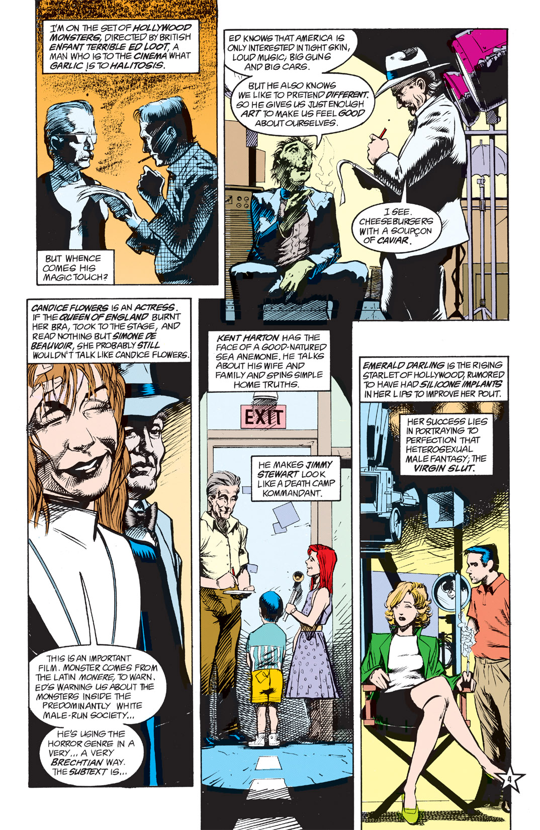 Read online Shade, the Changing Man comic -  Issue #5 - 6