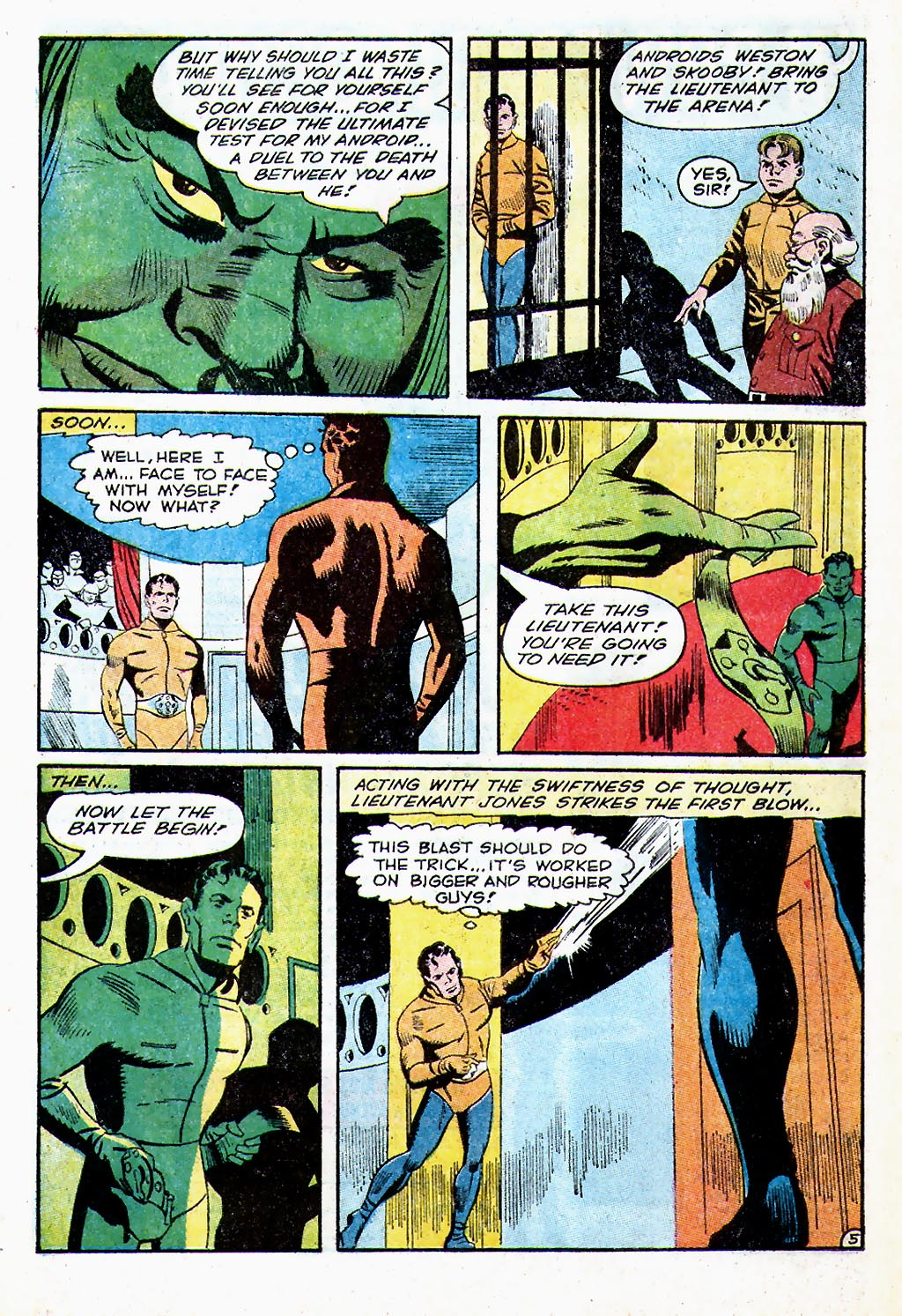 T.H.U.N.D.E.R. Agents (1965) issue 13 - Page 50