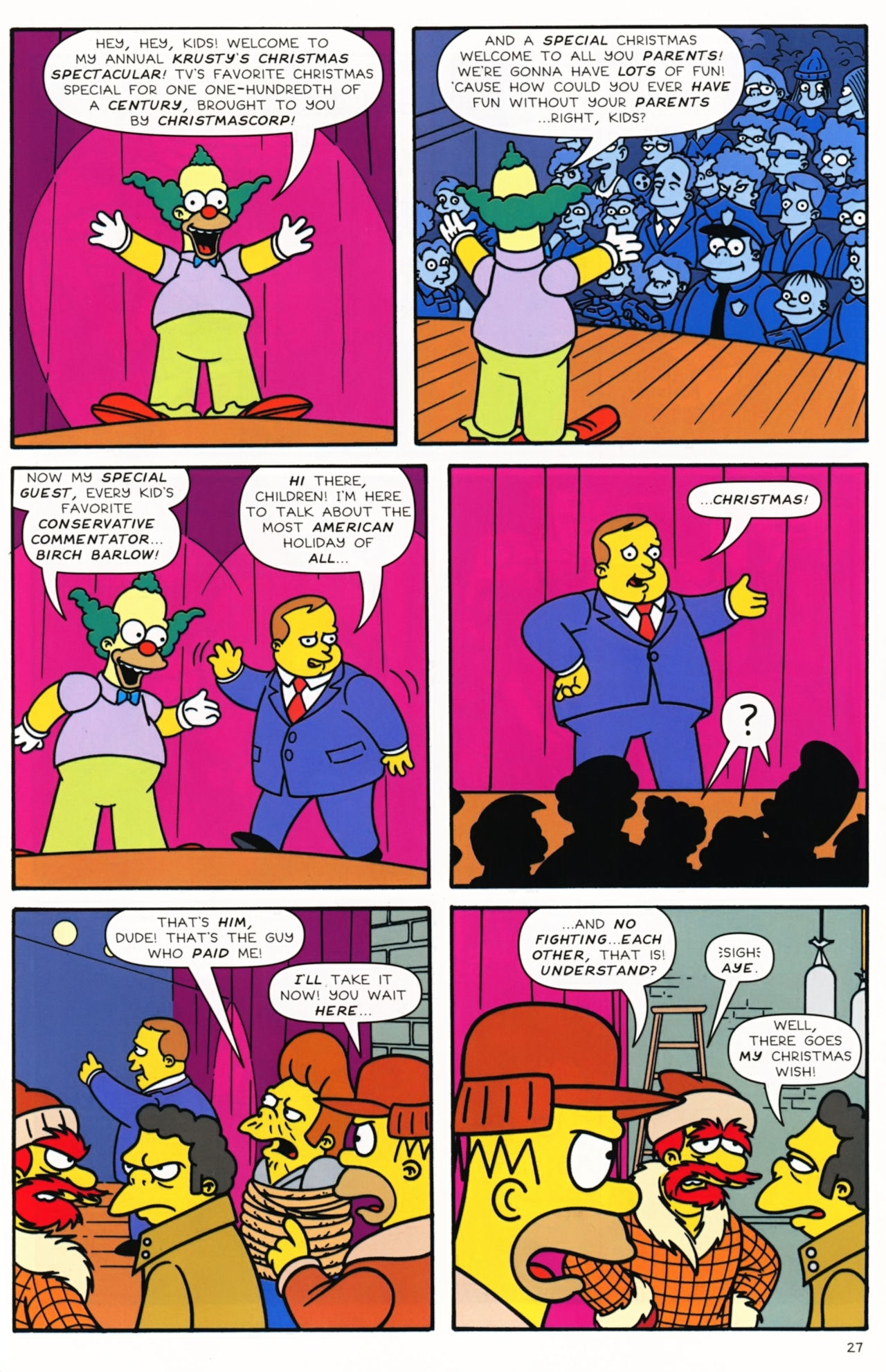 Read online Simpsons Comics comic -  Issue #172 - 29