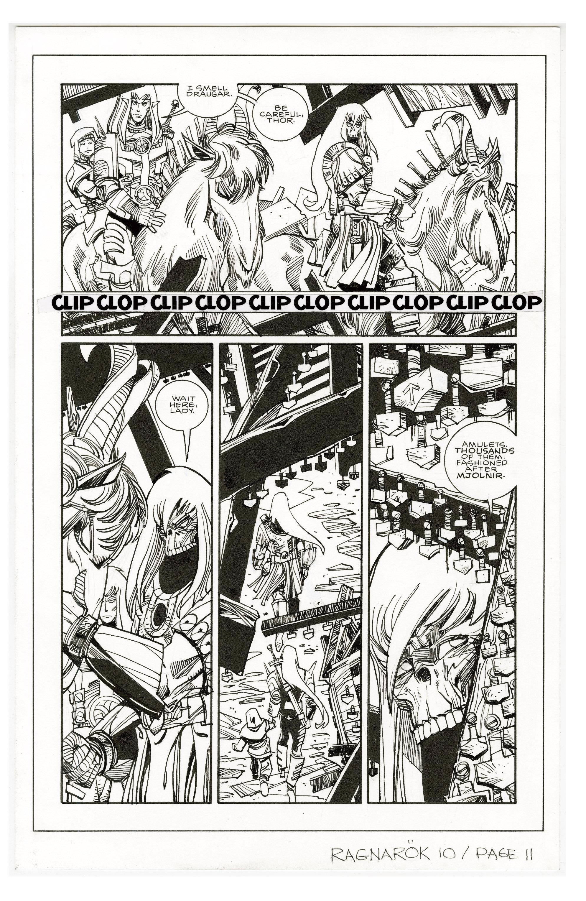 Read online Ragnarok comic -  Issue #10 - 29