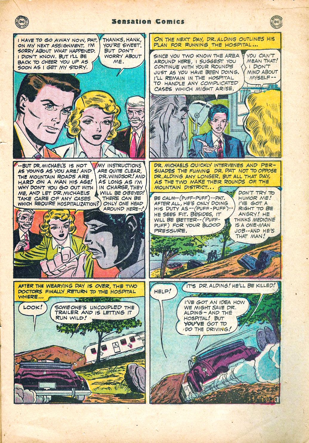 Read online Sensation (Mystery) Comics comic -  Issue #95 - 23