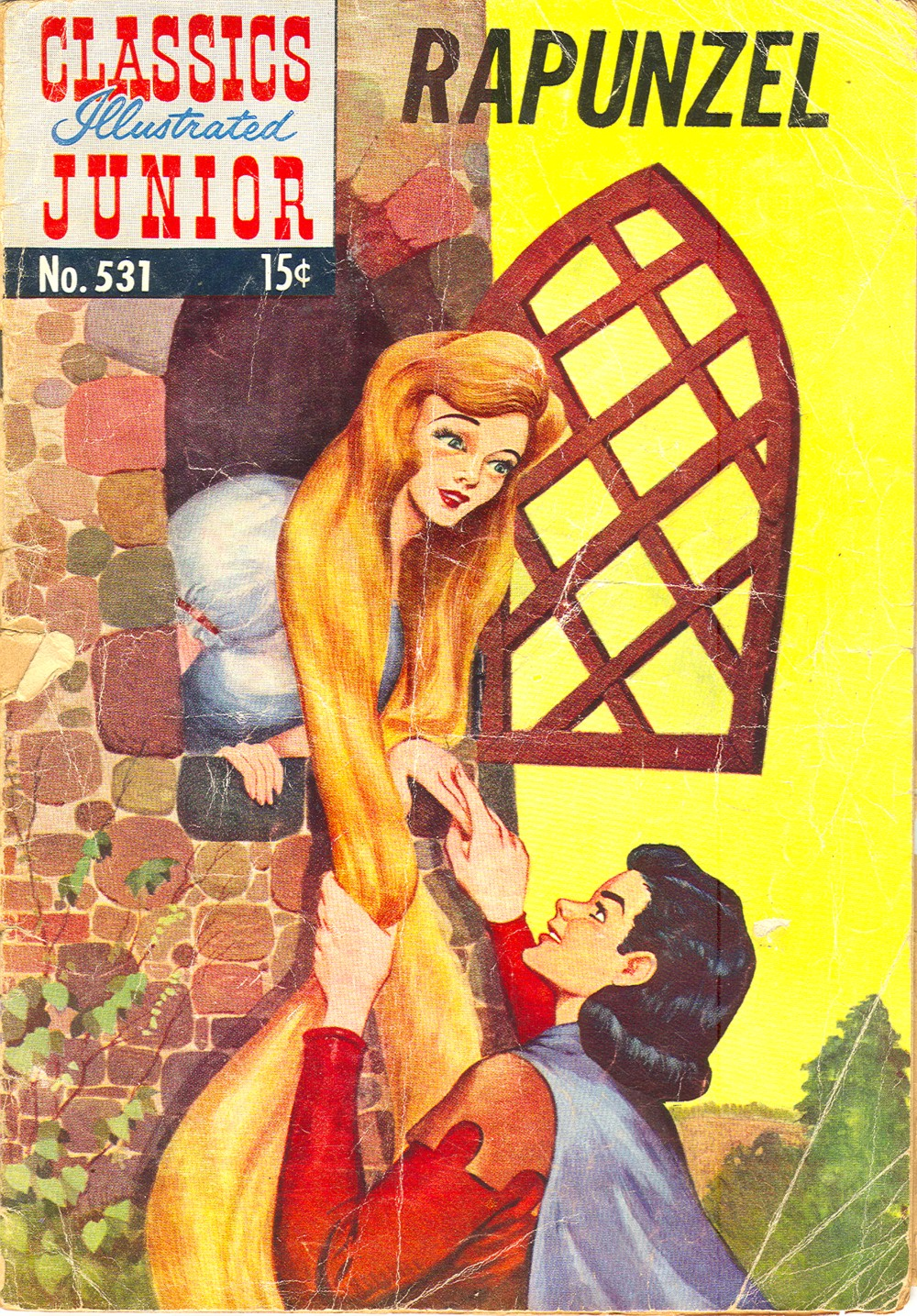 Classics Illustrated Junior 531 Page 1