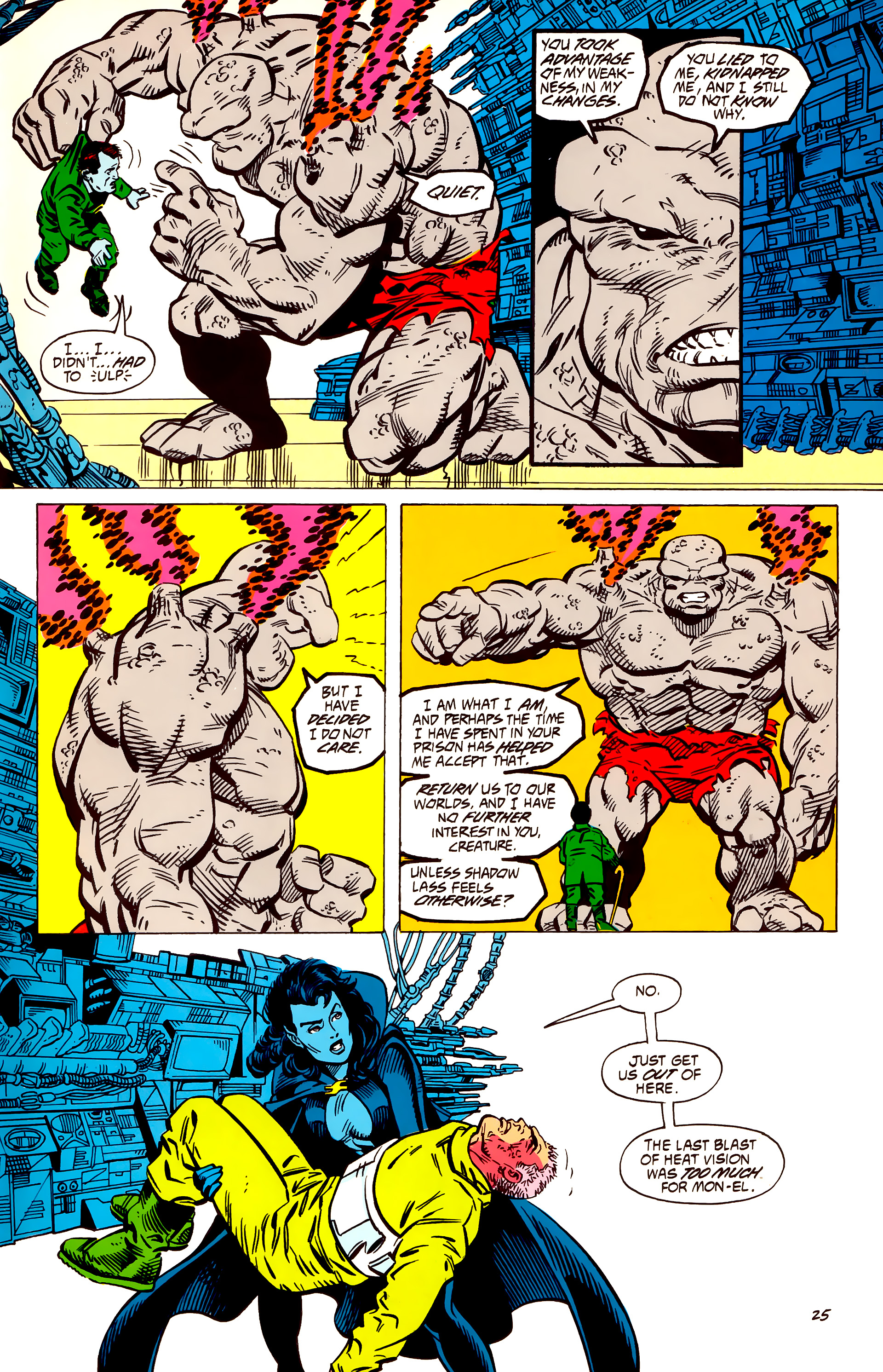 Legion of Super-Heroes (1984) 56 Page 25
