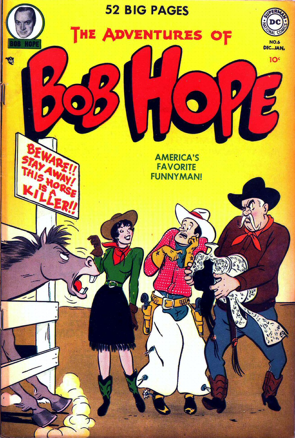 The Adventures of Bob Hope issue 6 - Page 1