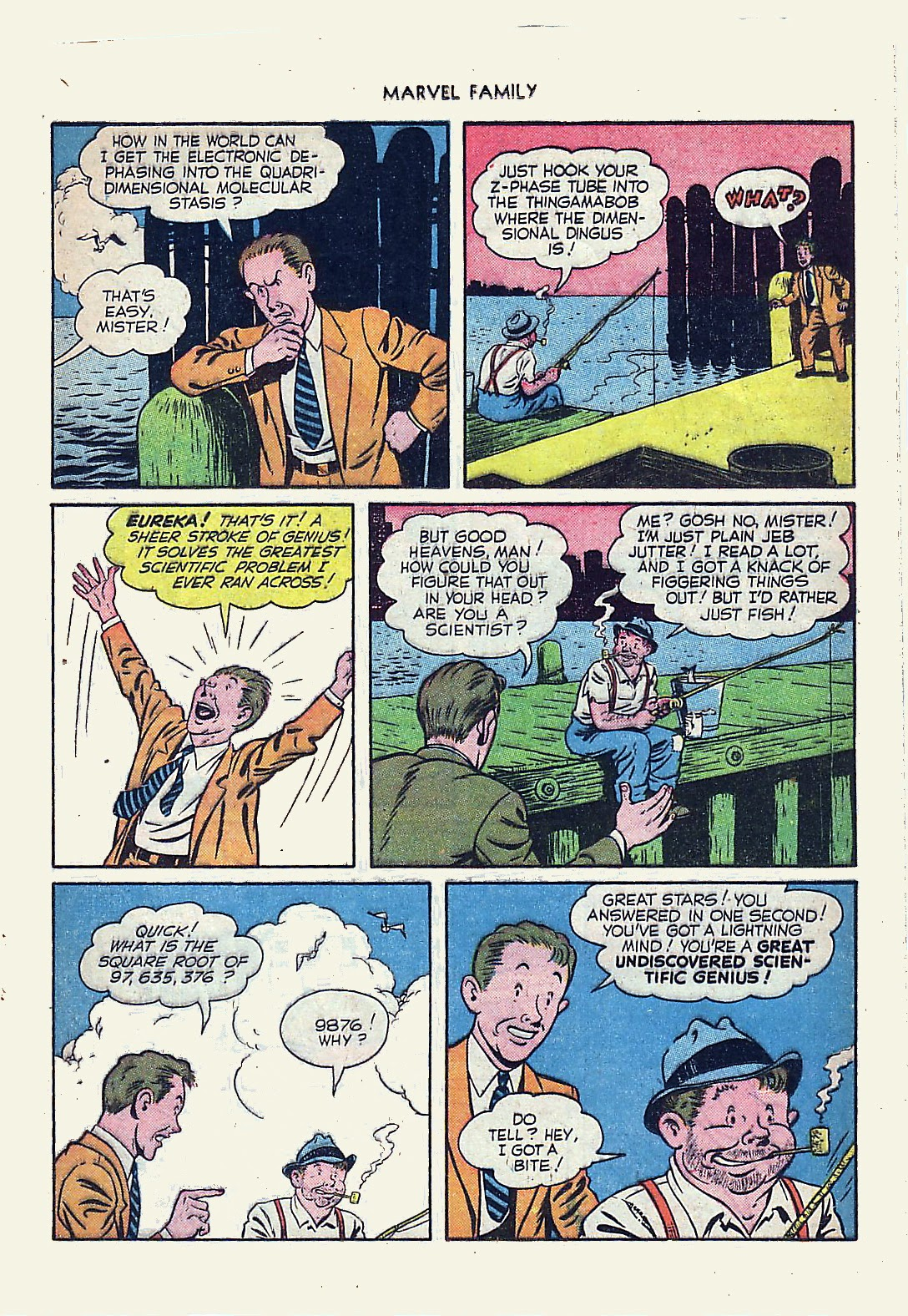 The Marvel Family issue 61 - Page 25