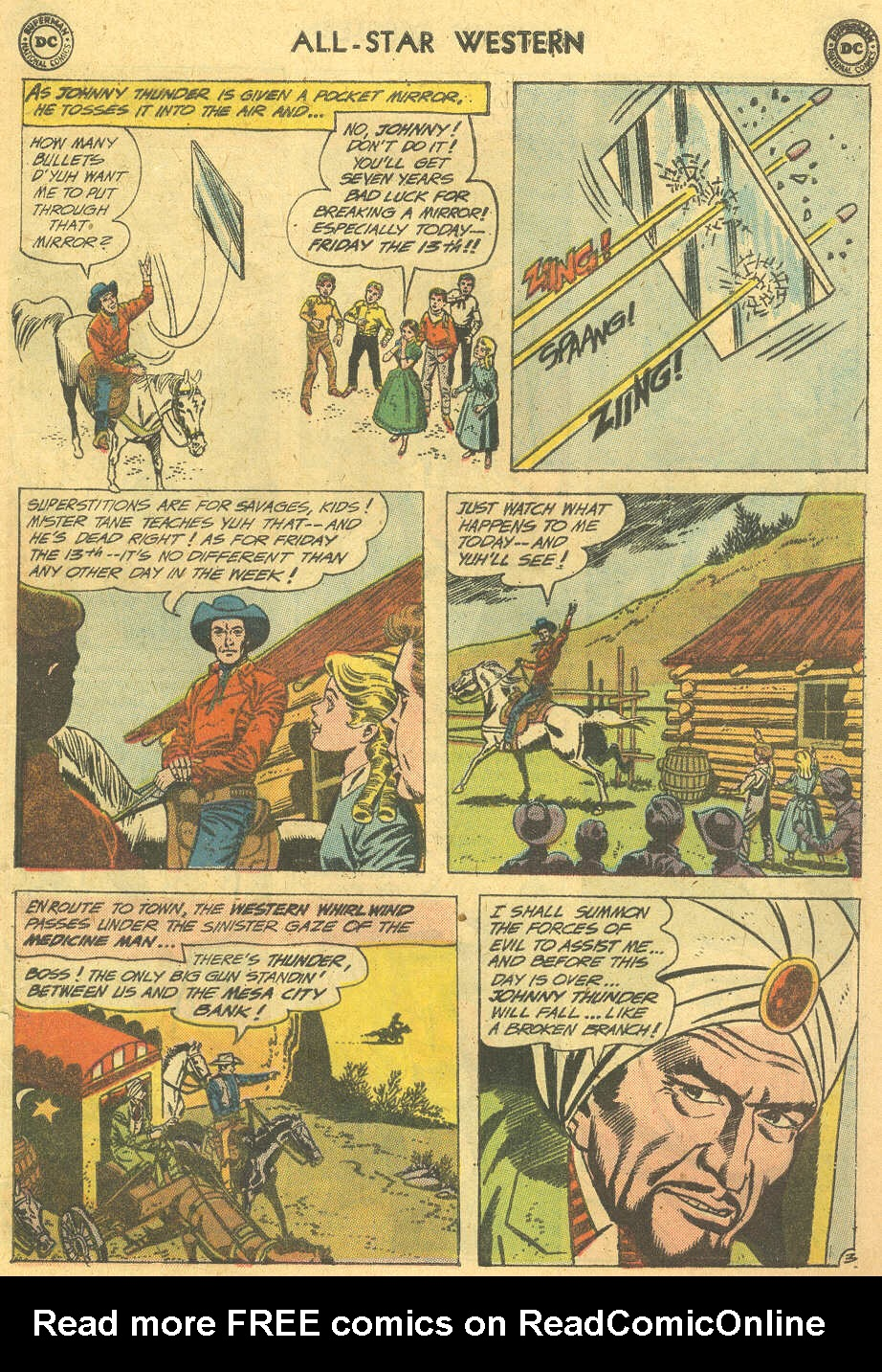 Read online All-Star Western (1951) comic -  Issue #114 - 5