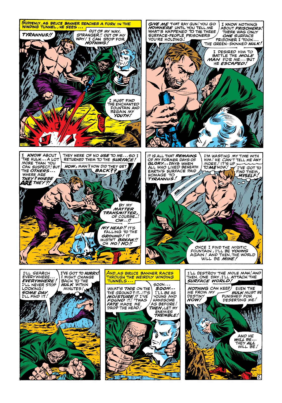 Read online Marvel Masterworks: The Incredible Hulk comic -  Issue # TPB 3 (Part 1) - 23