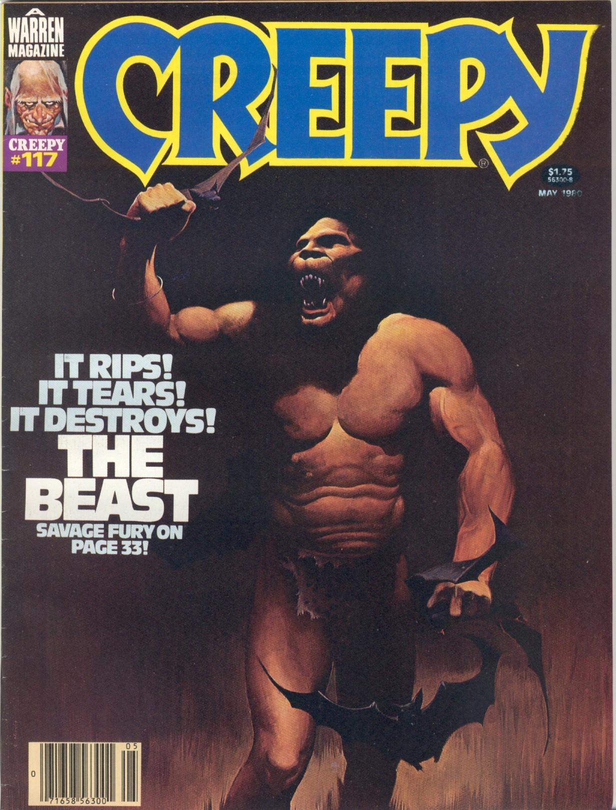 Creepy (1964) 117 Page 1