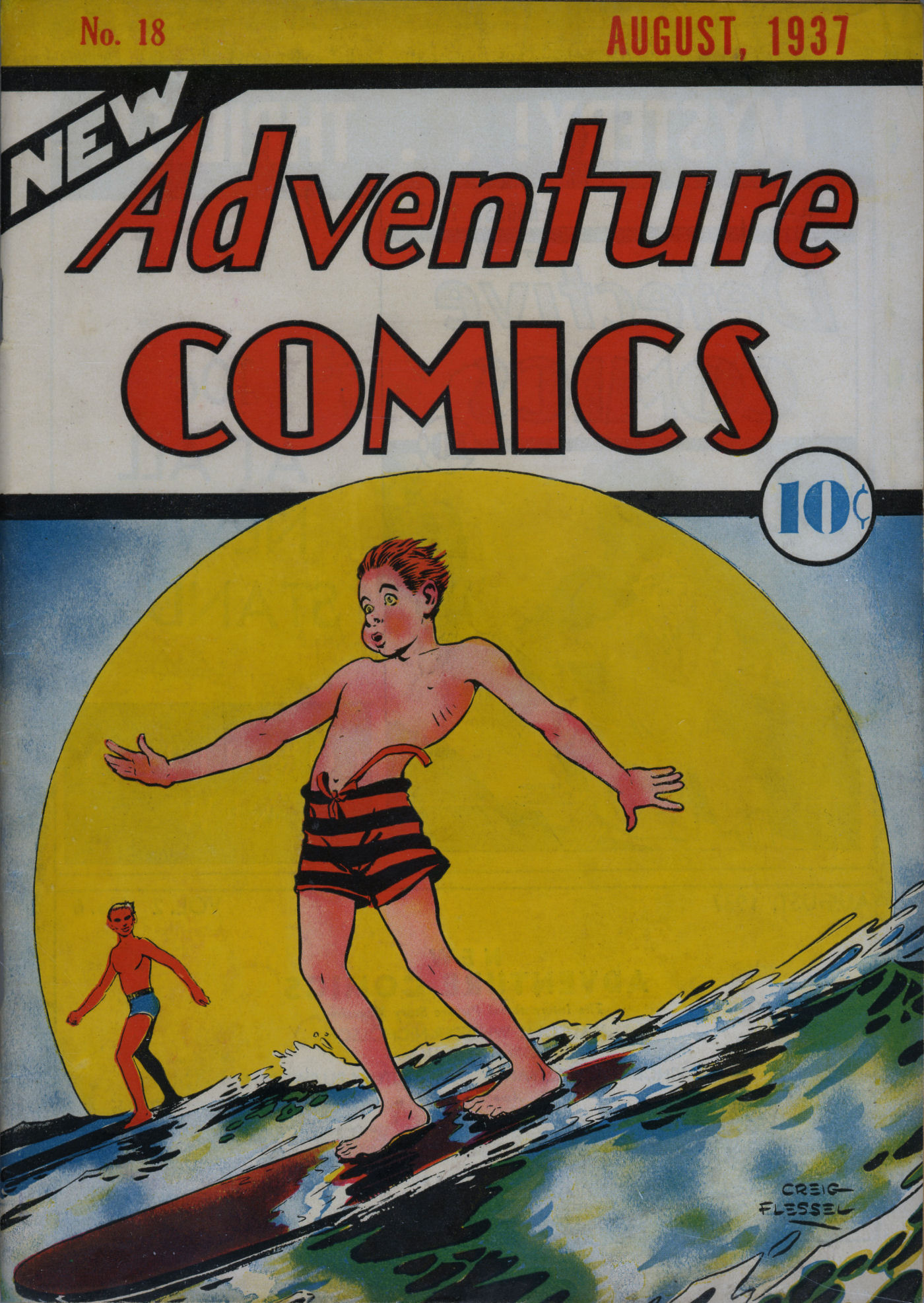 Read online Adventure Comics (1938) comic -  Issue #18 - 2