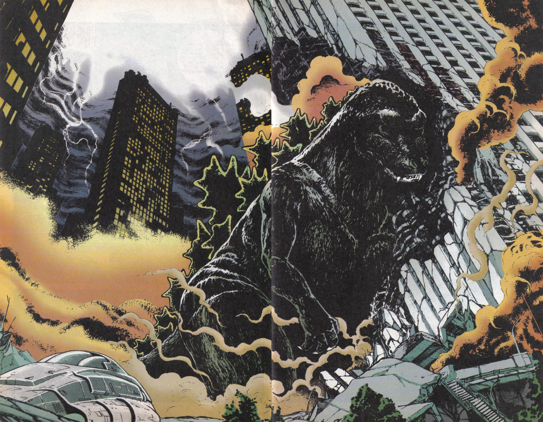 Read online Dark Horse Classics: Terror of Godzilla comic -  Issue #5 - 8