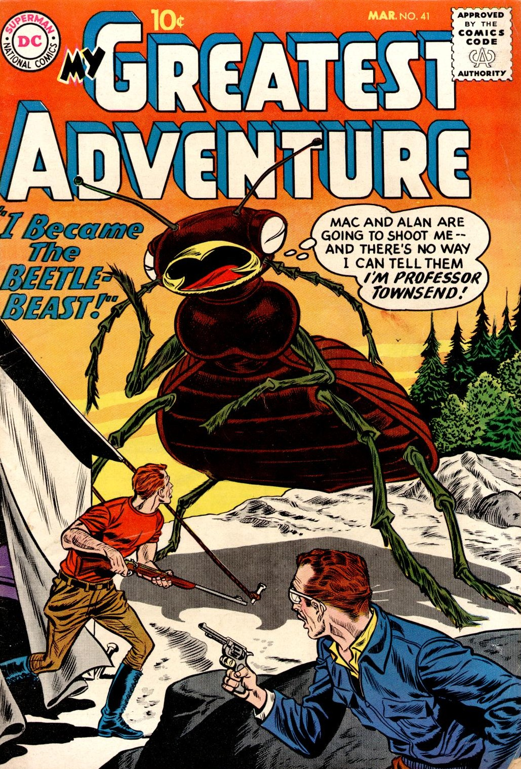 My Greatest Adventure (1955) issue 41 - Page 1