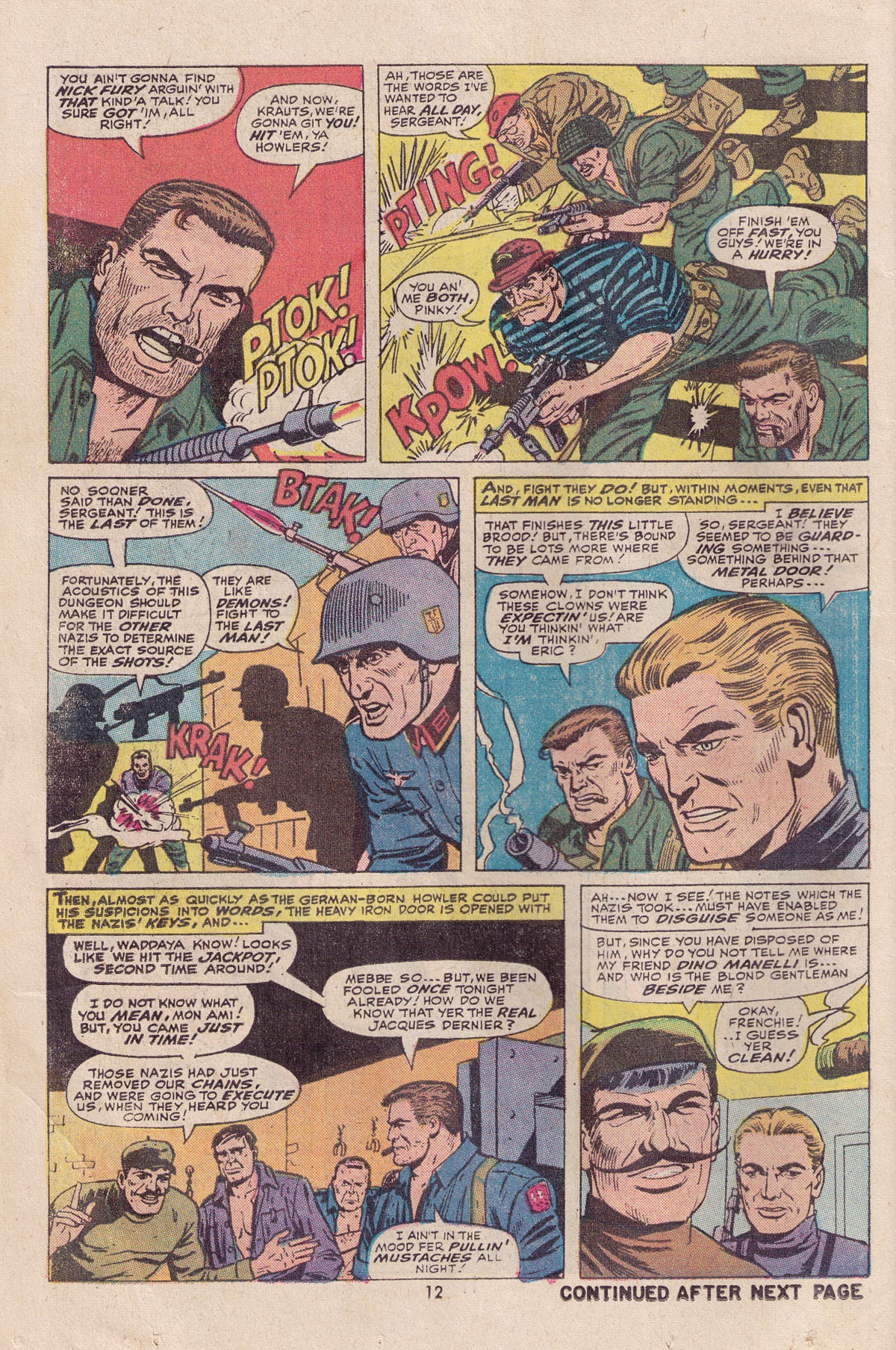 Read online Sgt. Fury comic -  Issue #113 - 14