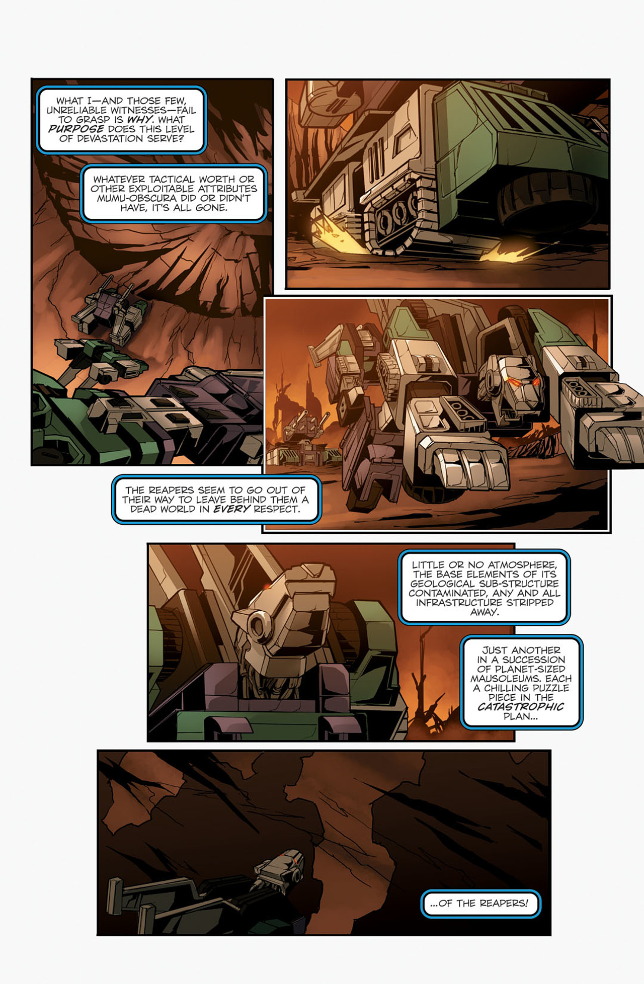 Read online Transformers Spotlight: Sixshot comic -  Issue # Full - 13