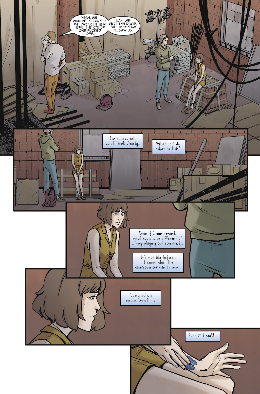 Read online Life is Strange comic -  Issue #8 - 18