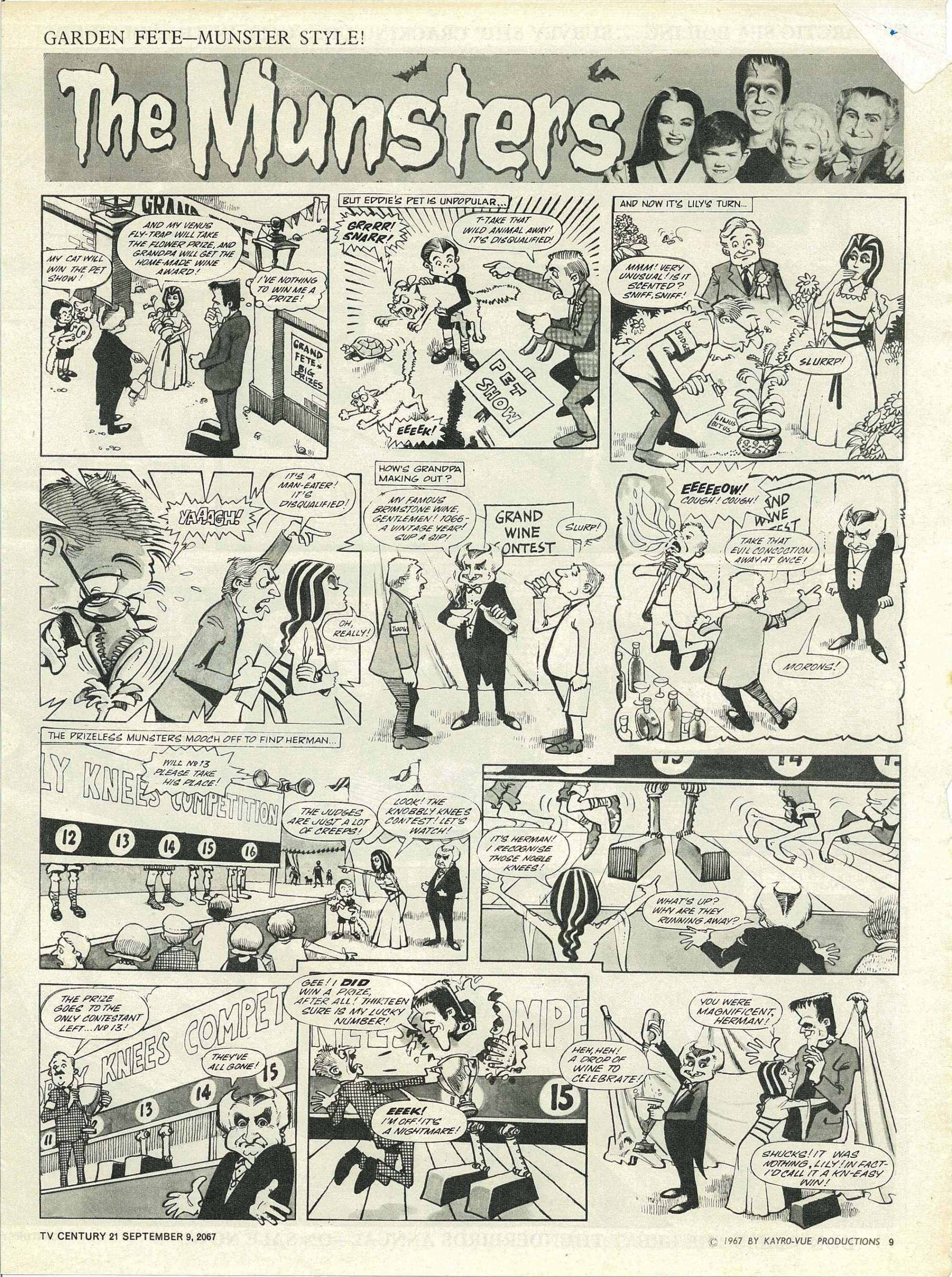 Read online TV Century 21 (TV 21) comic -  Issue #138 - 9