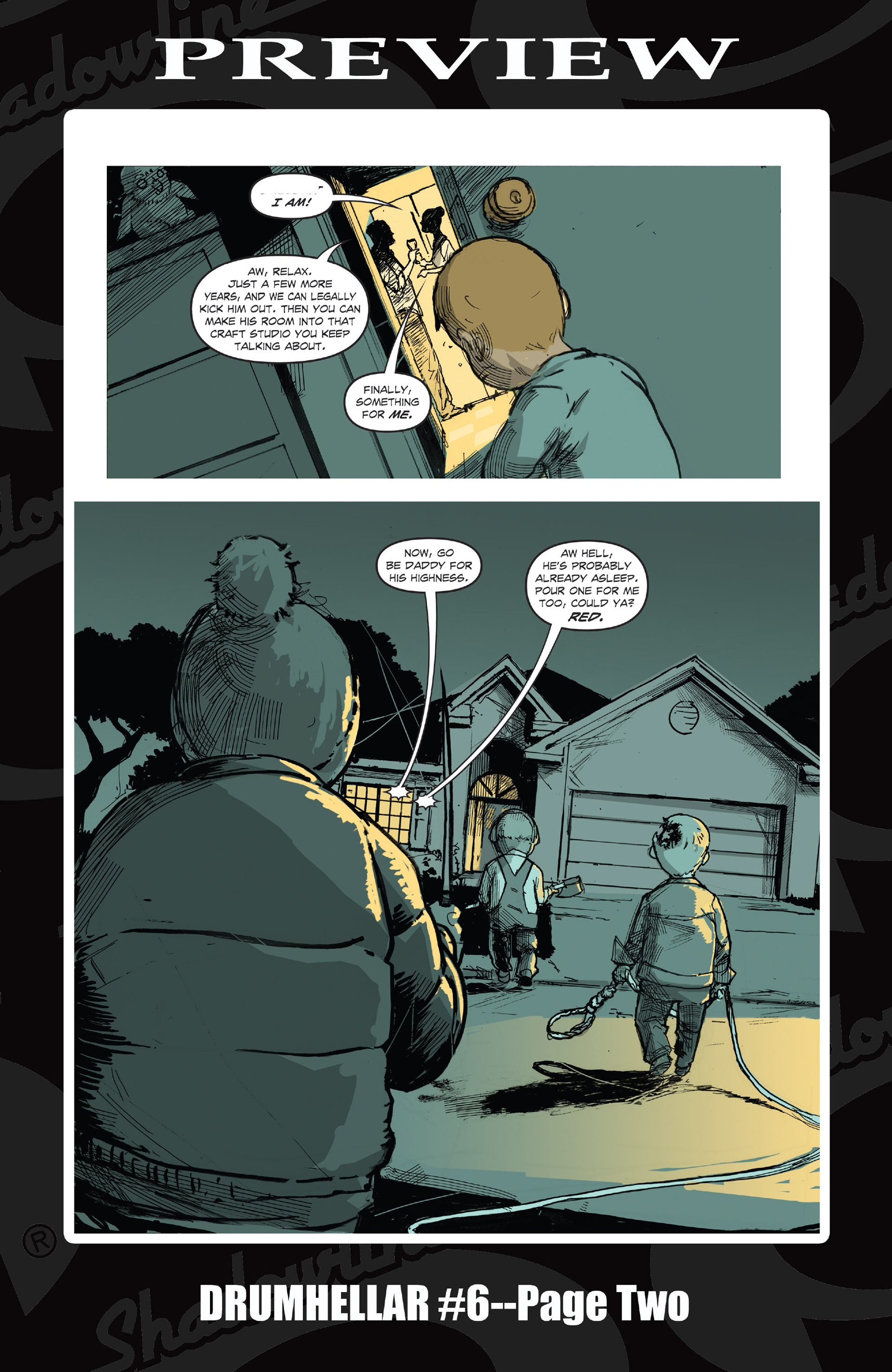 Read online Five Weapons comic -  Issue #9 - 27
