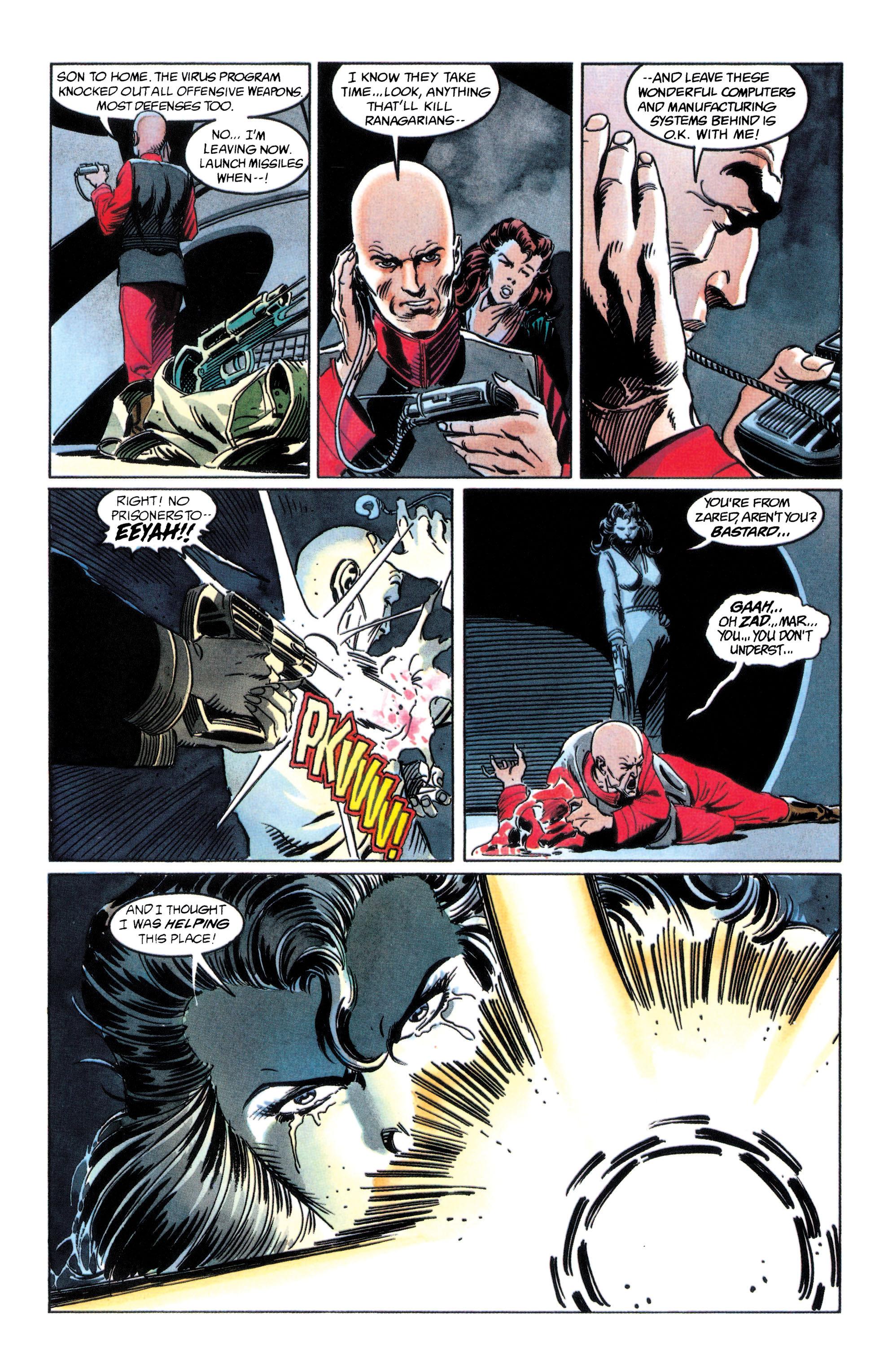 Read online Adam Strange (1990) comic -  Issue #2 - 32