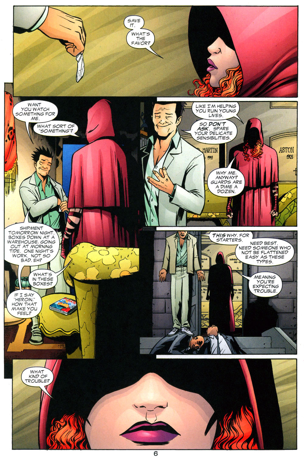 Read online Fallen Angel (2003) comic -  Issue #2 - 7