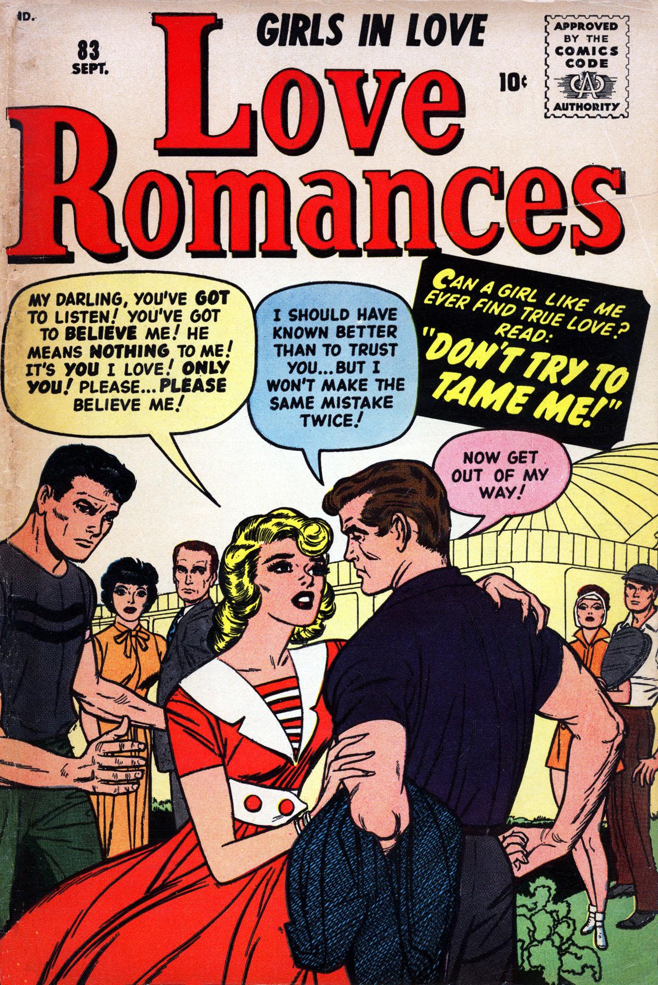 Love Romances 83 Page 1