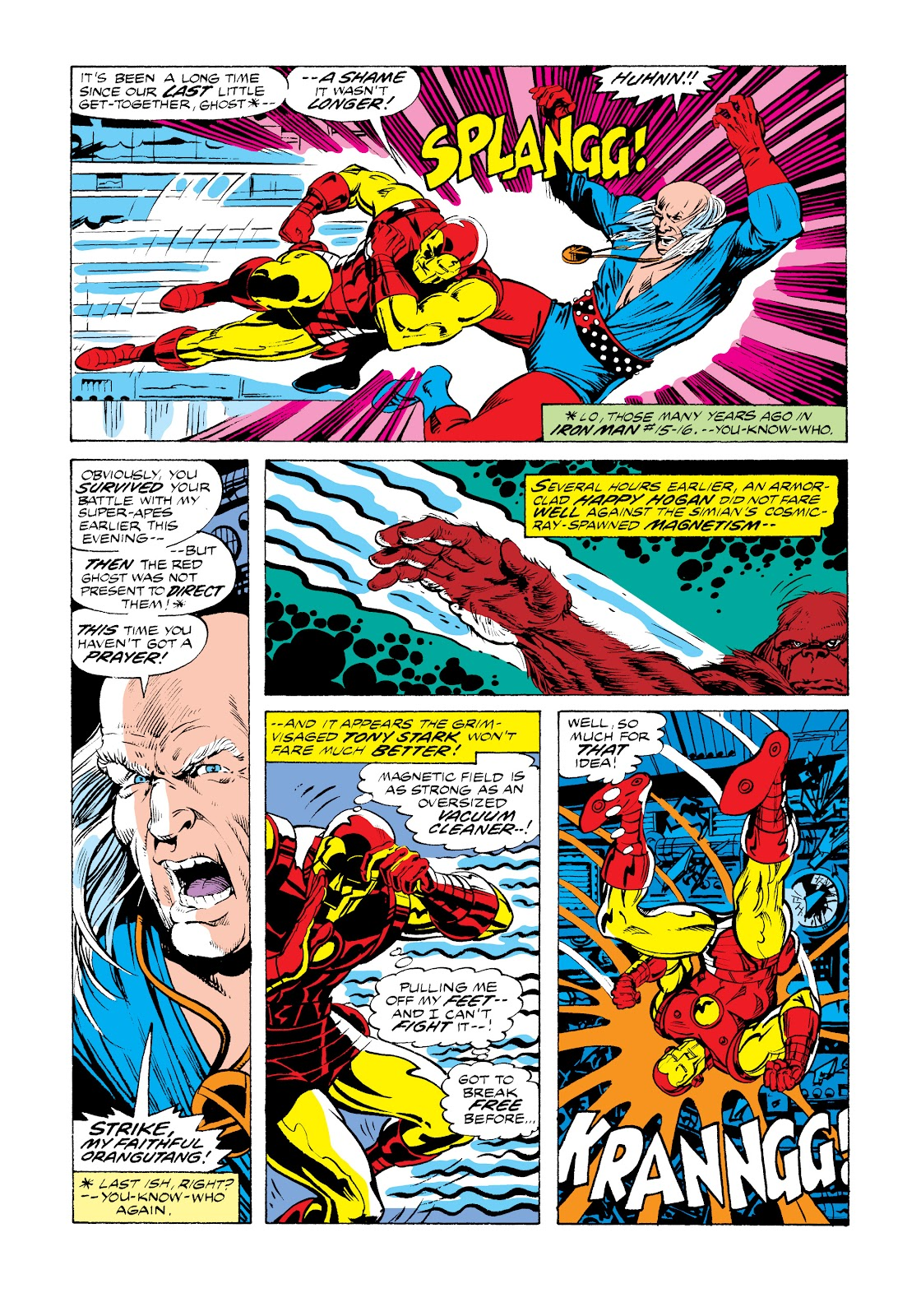 Read online Marvel Masterworks: The Invincible Iron Man comic -  Issue # TPB 11 (Part 1) - 39