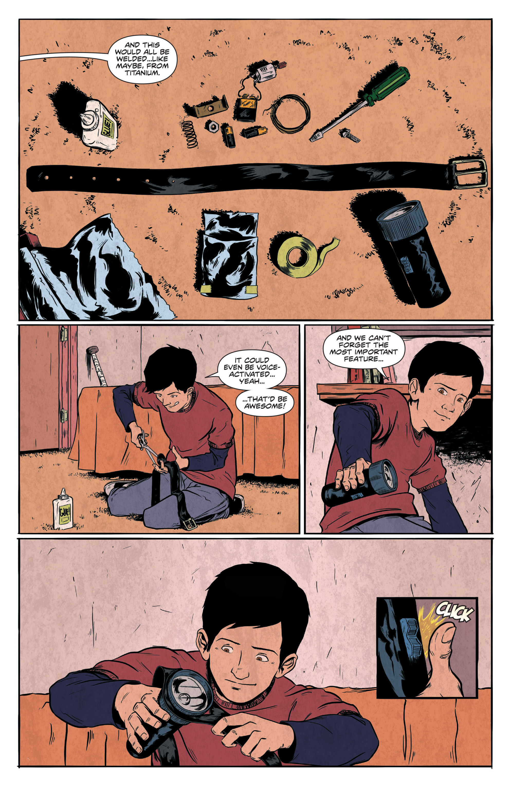 Read online Translucid comic -  Issue #1 - 12
