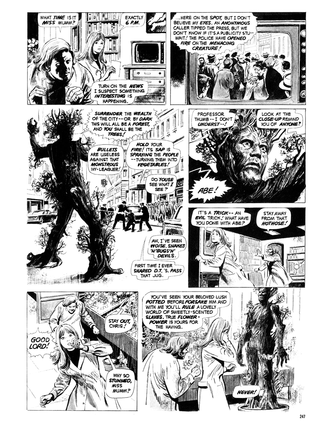 Read online Eerie Archives comic -  Issue # TPB 9 - 248