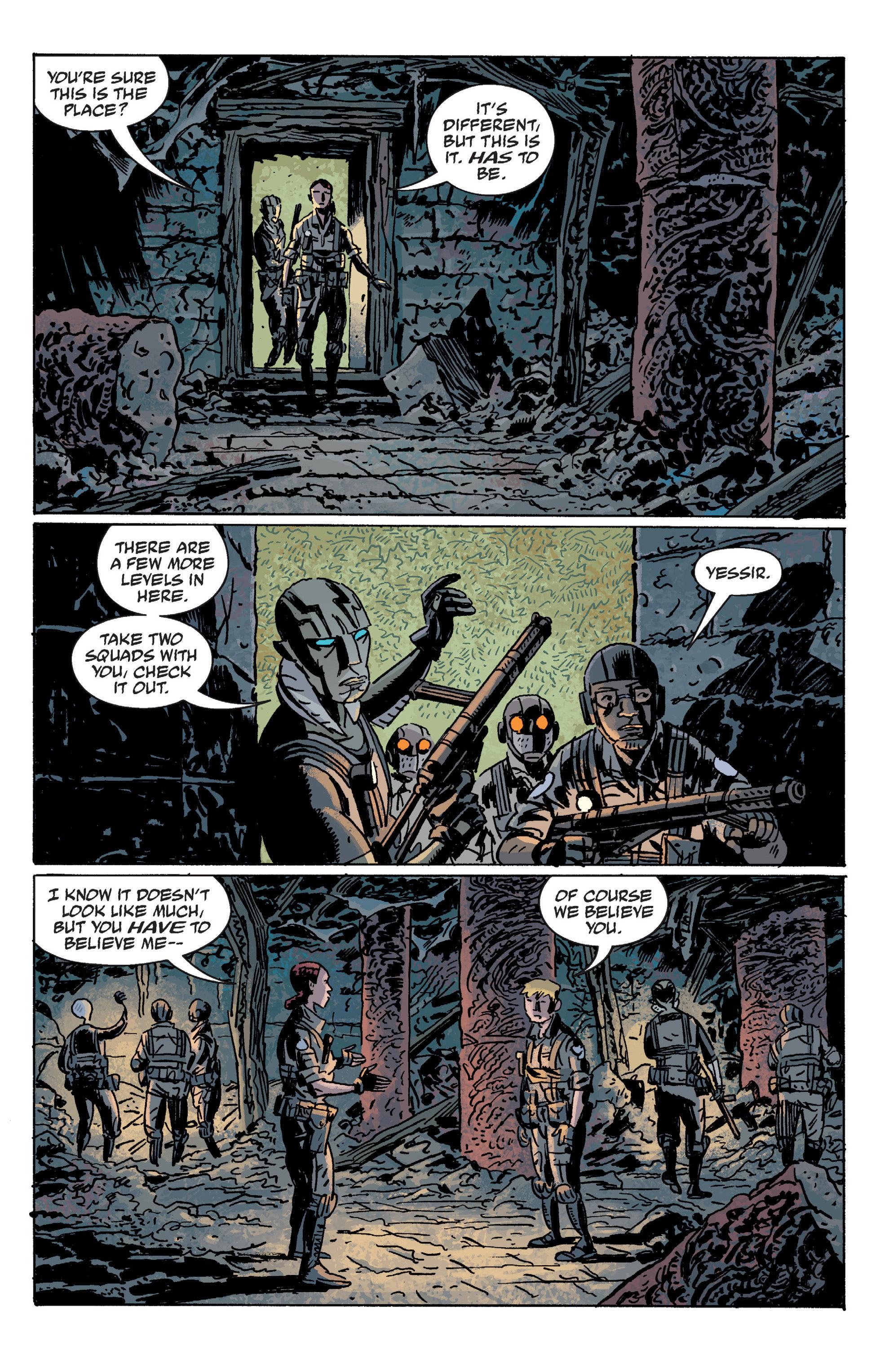 Read online B.P.R.D. (2003) comic -  Issue # TPB 10 - 53