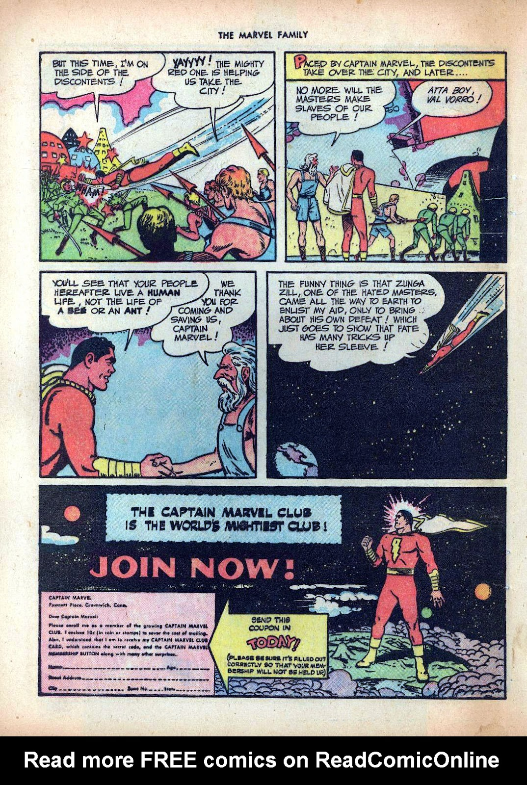 The Marvel Family issue 25 - Page 48