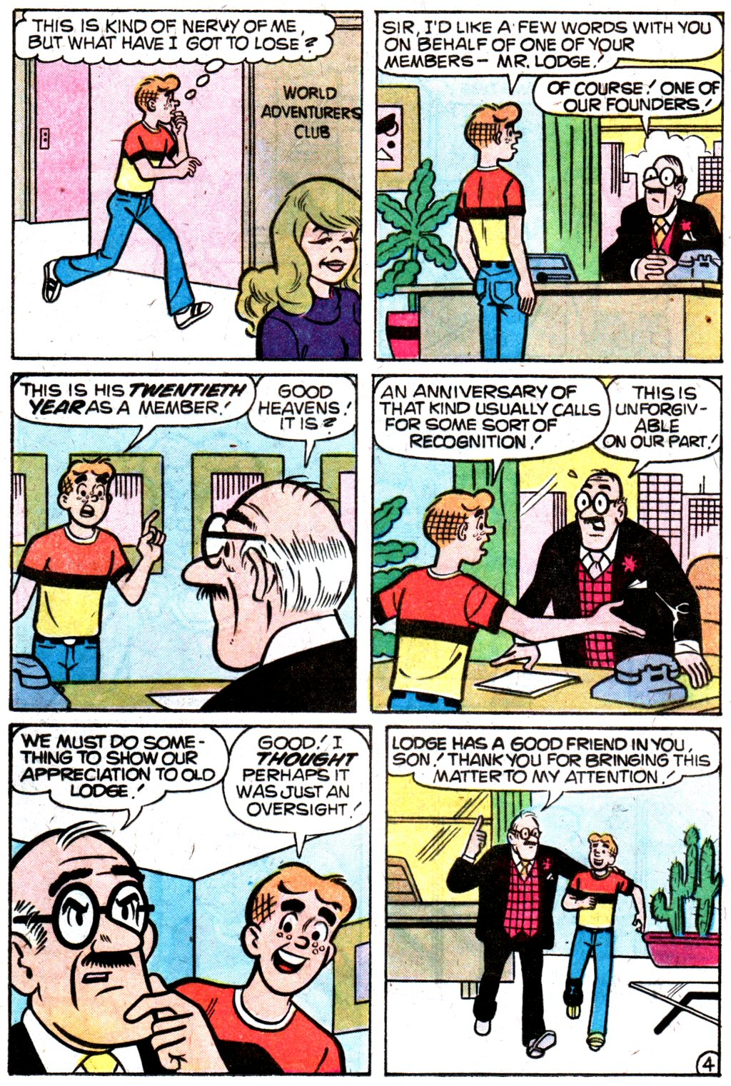 Read online Archie (1960) comic -  Issue #274 - 16