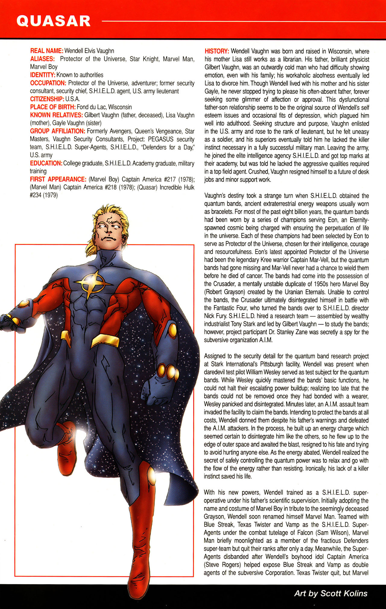 Read online All-New Official Handbook of the Marvel Universe A to Z: Update comic -  Issue #1 - 43