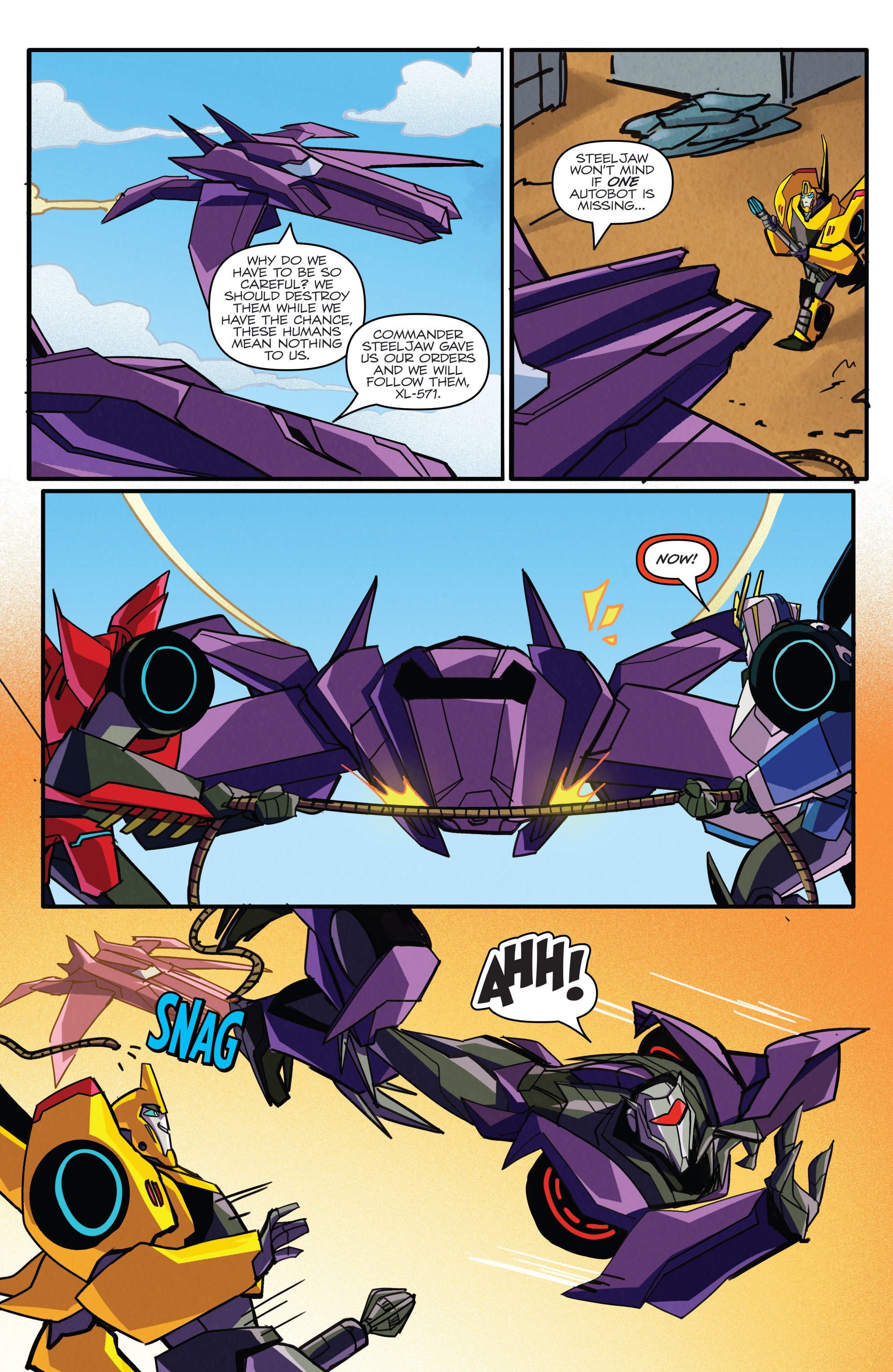 Read online Transformers: Robots In Disguise (2015) comic -  Issue #5 - 21