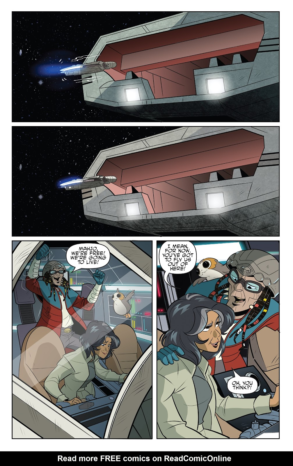 Read online Star Wars Adventures: Flight of the Falcon comic -  Issue # Full - 20