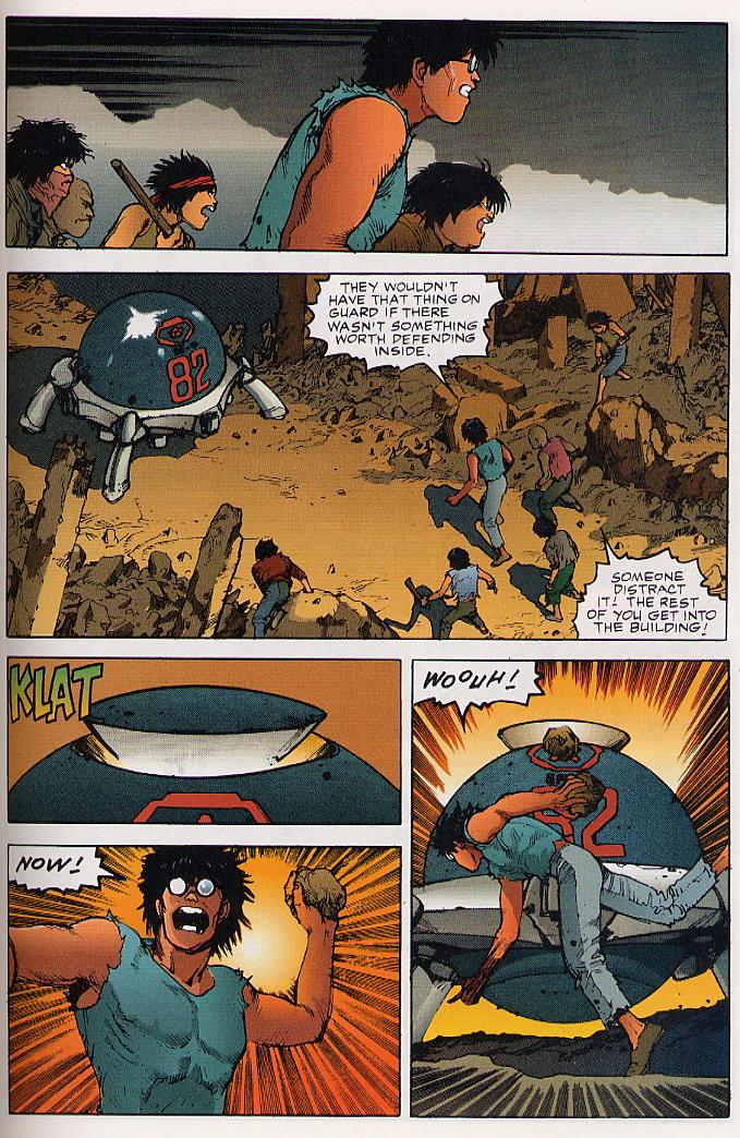 Read online Akira comic -  Issue #25 - 46