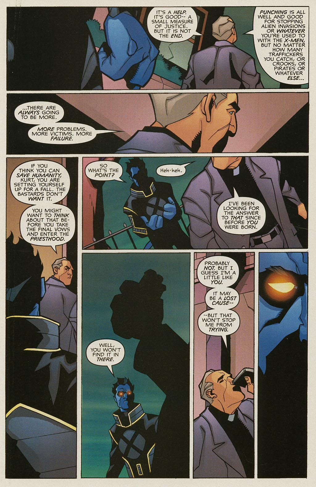 Read online Nightcrawler (2002) comic -  Issue #3 - 14