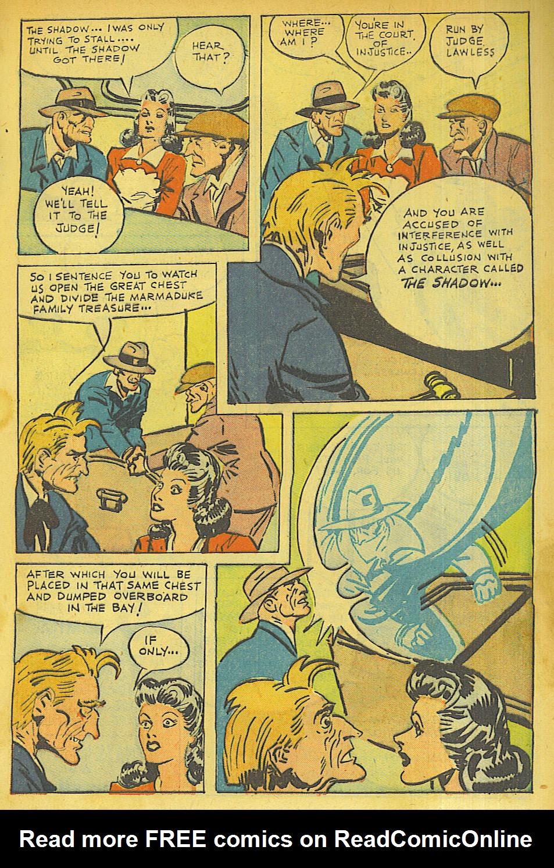 Read online Shadow Comics comic -  Issue #63 - 7