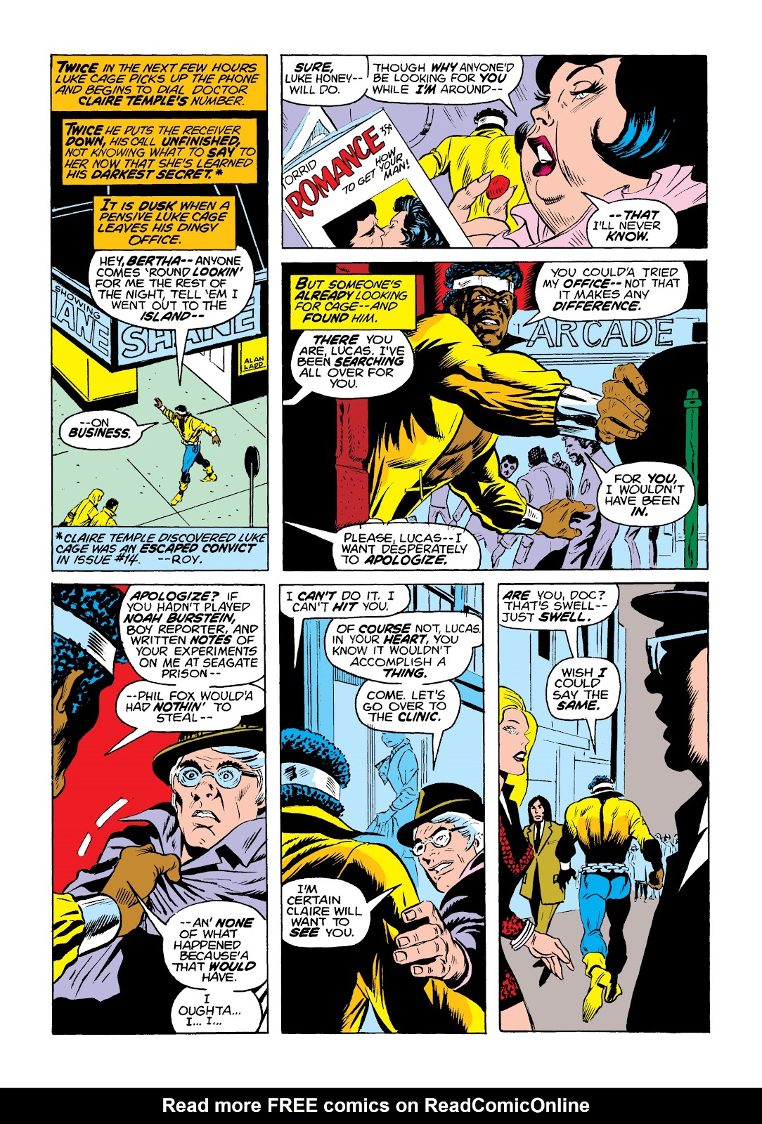Read online Marvel Masterworks: Luke Cage, Power Man comic -  Issue # TPB 2 (Part 1) - 14