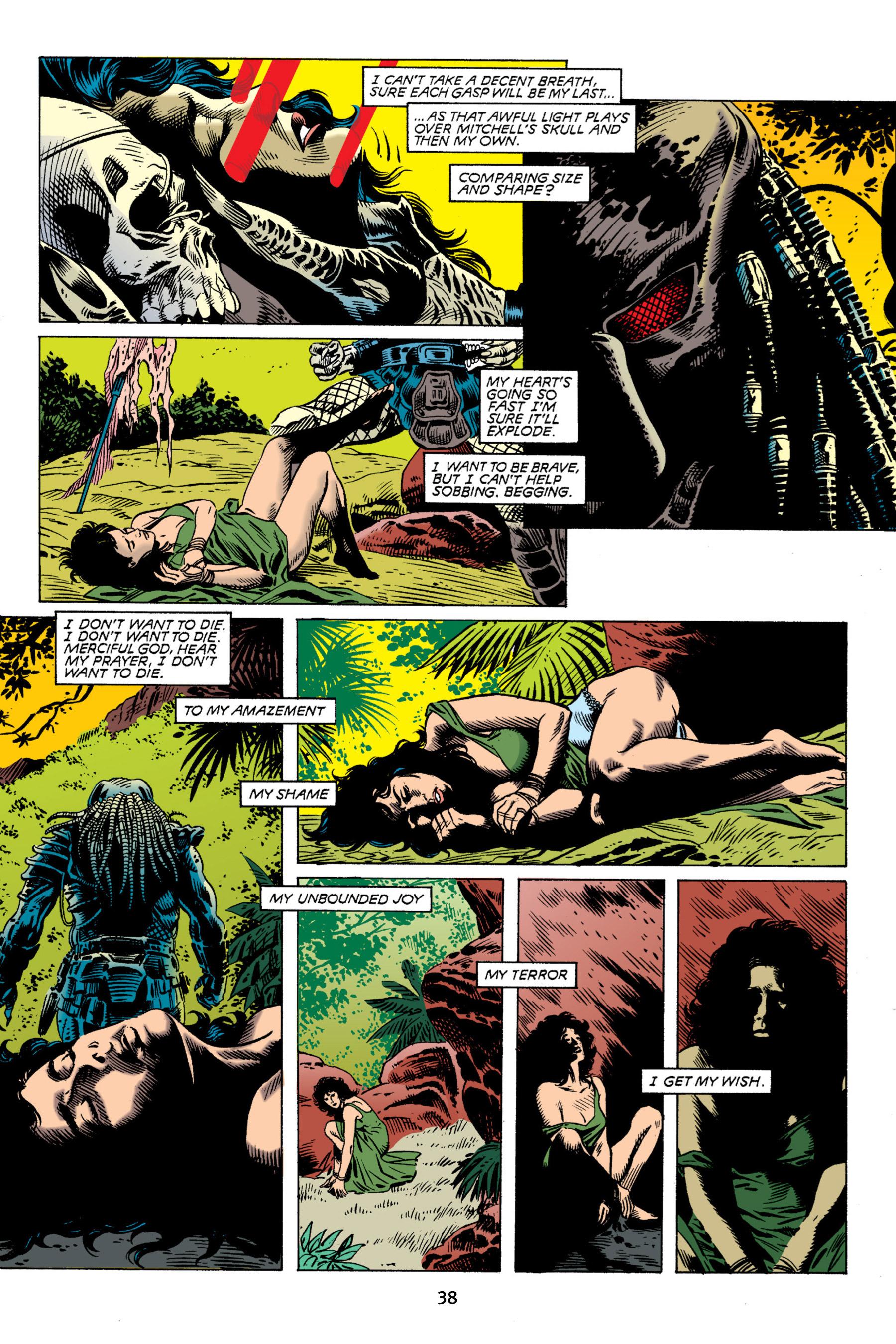 Read online Aliens vs. Predator Omnibus comic -  Issue # _TPB 2 Part 1 - 38