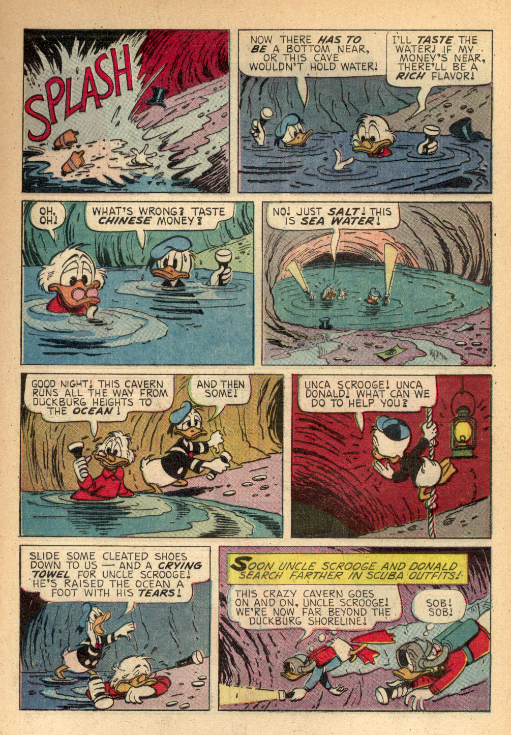 Read online Uncle Scrooge (1953) comic -  Issue #68 - 5