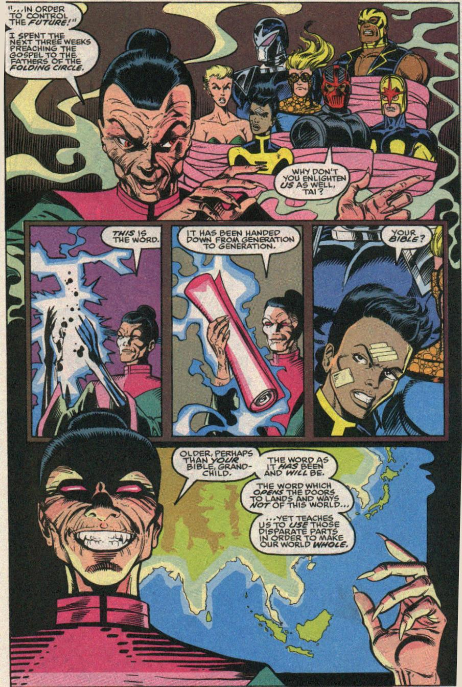 The New Warriors Issue #24 #28 - English 15