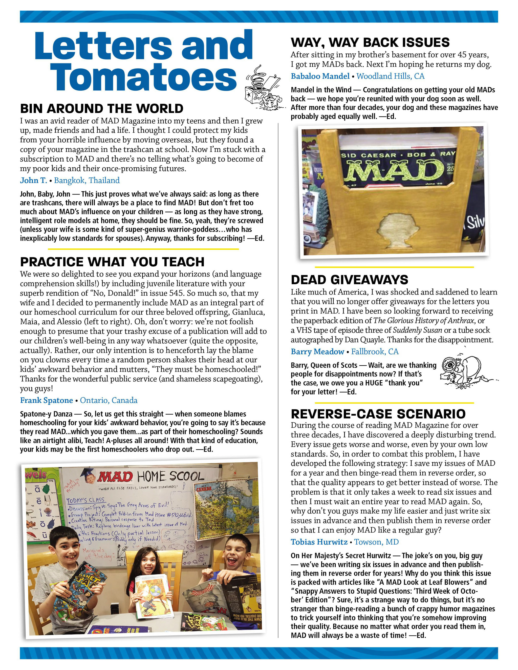 Read online MAD comic -  Issue #546 - 4