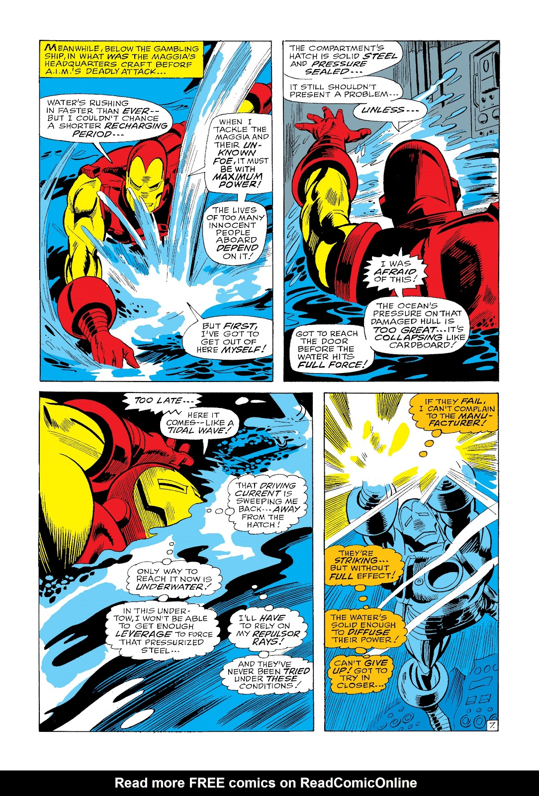 Read online Marvel Masterworks: The Invincible Iron Man comic -  Issue # TPB 4 (Part 3) - 19