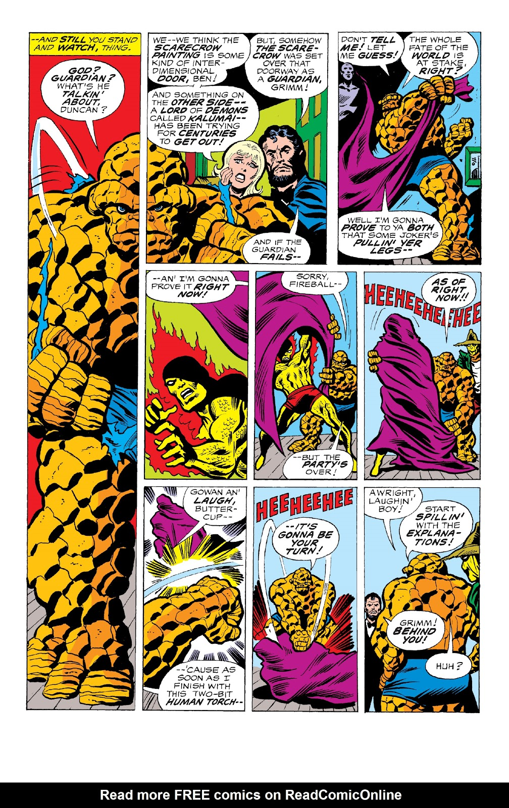 Read online Marvel Two-In-One Epic Collection: Cry Monster comic -  Issue # TPB (Part 4) - 97